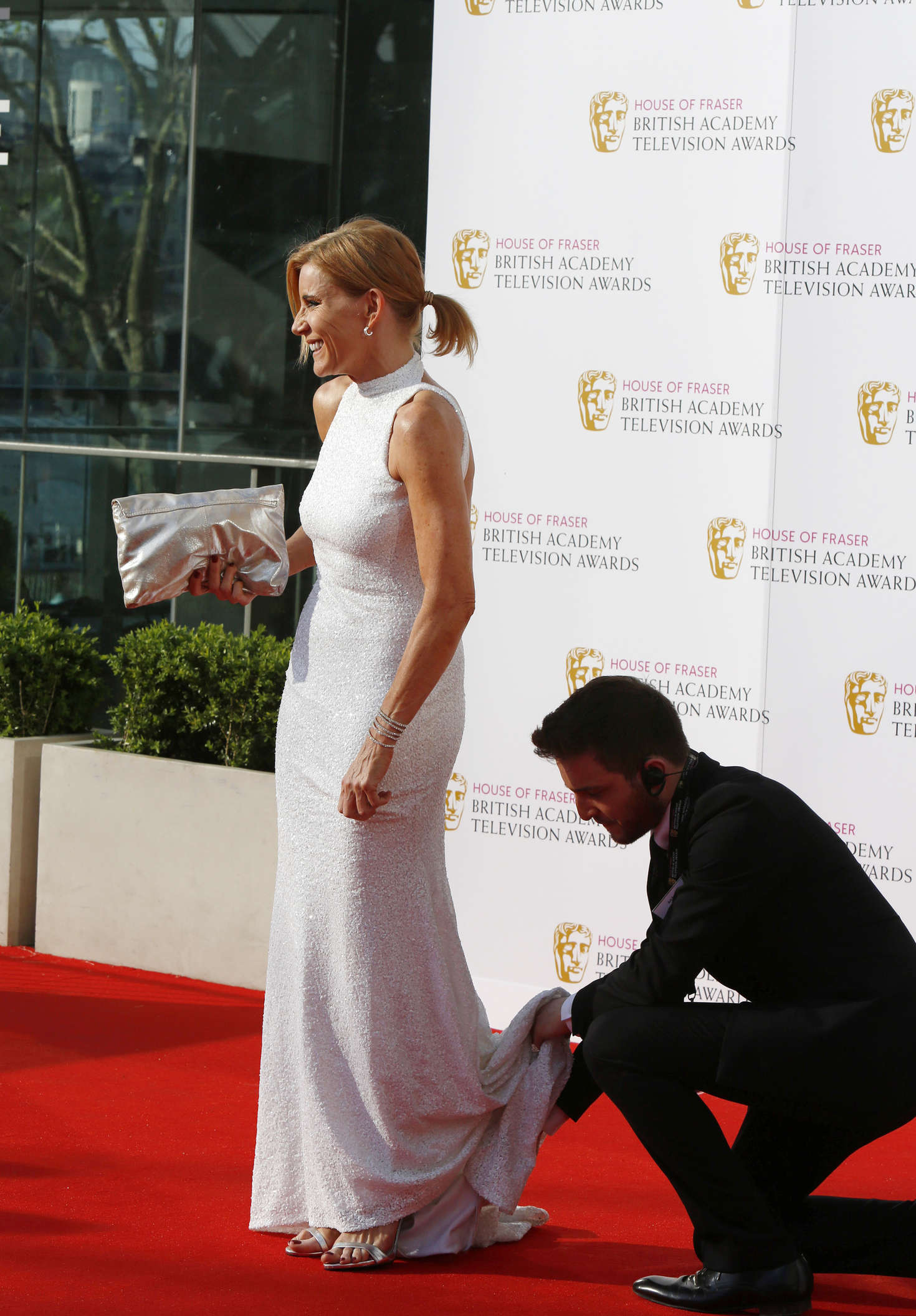 Michelle Collins BAFTA TV Awards in London