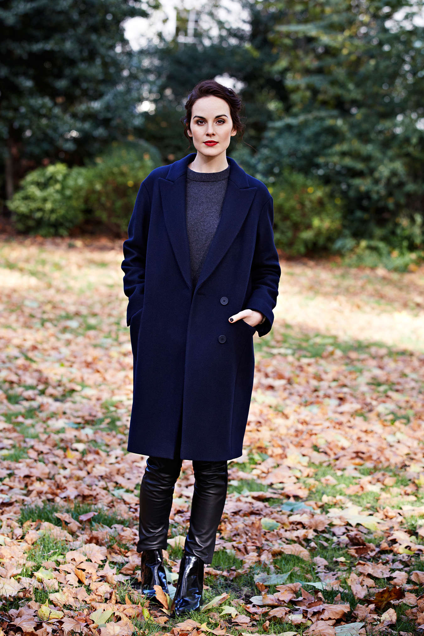 Michelle Dockery MS Style and Living Magazine