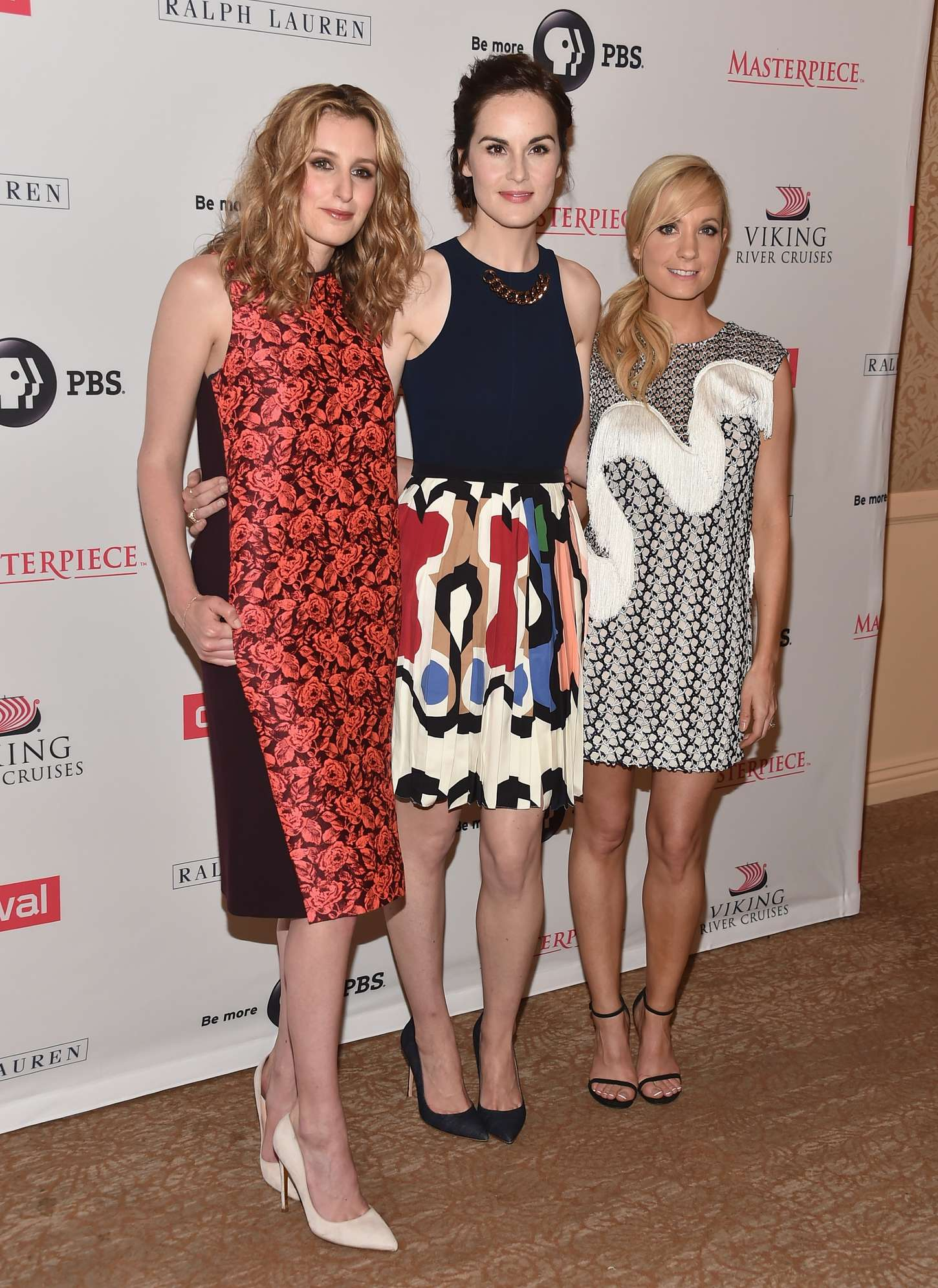 Michelle Dockery Summer TCA Tour in Beverly Hills