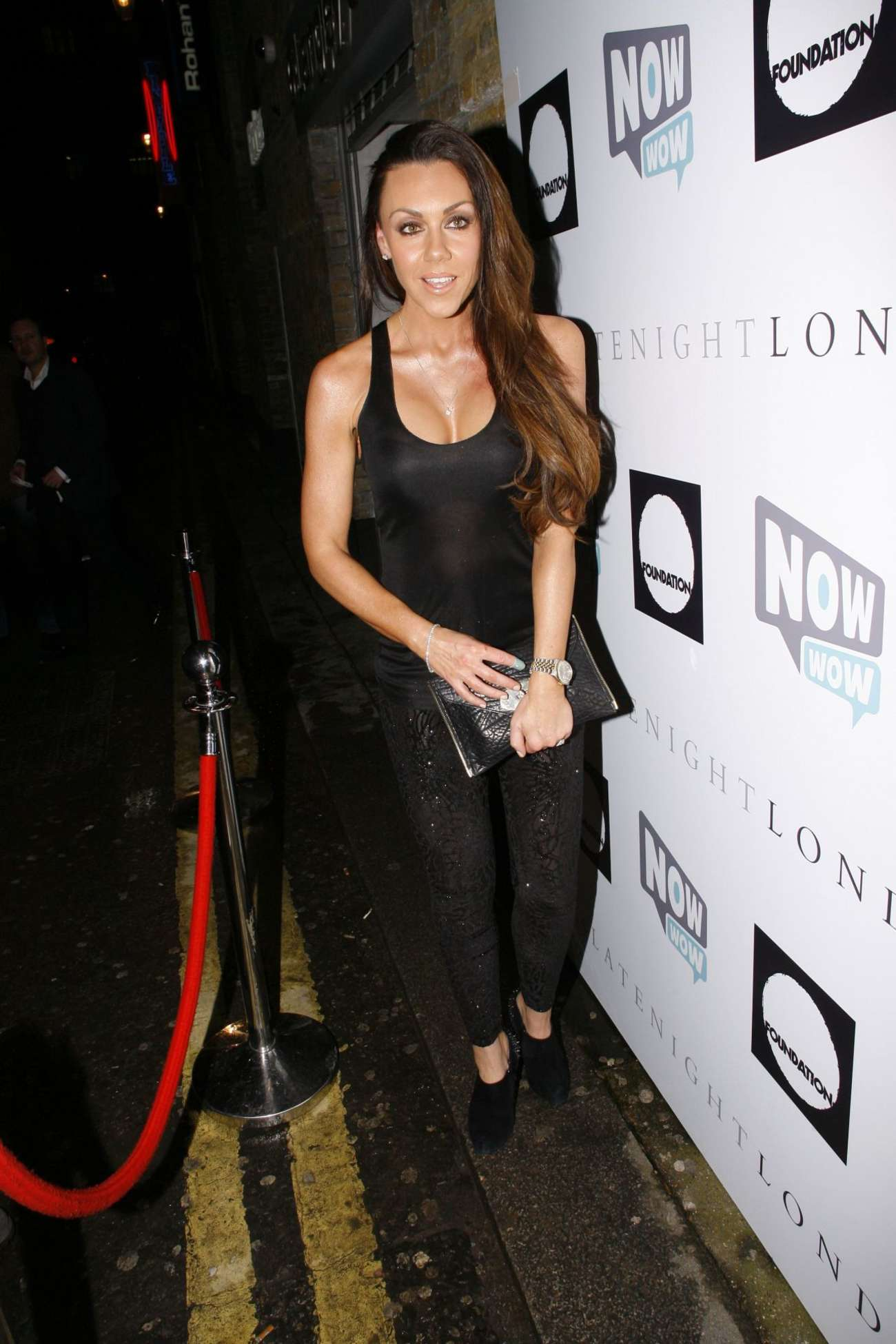 Michelle Heaton at Now Wow Charity Event in London