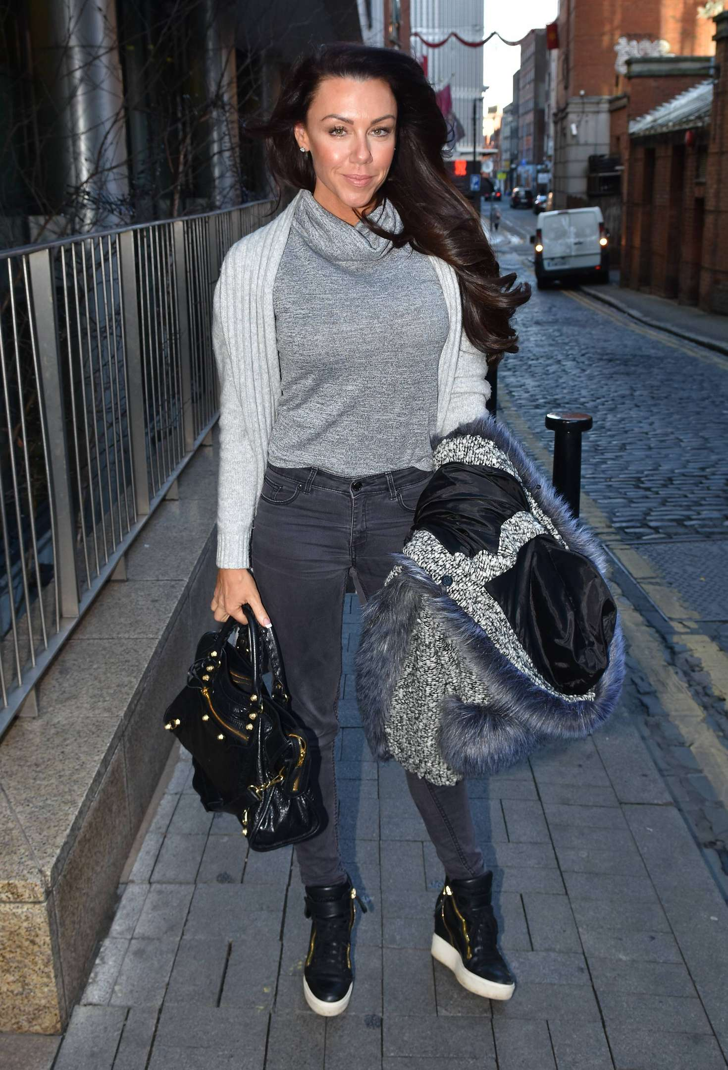 Michelle Heaton at Today FMs Anton Savage Show in Dublin