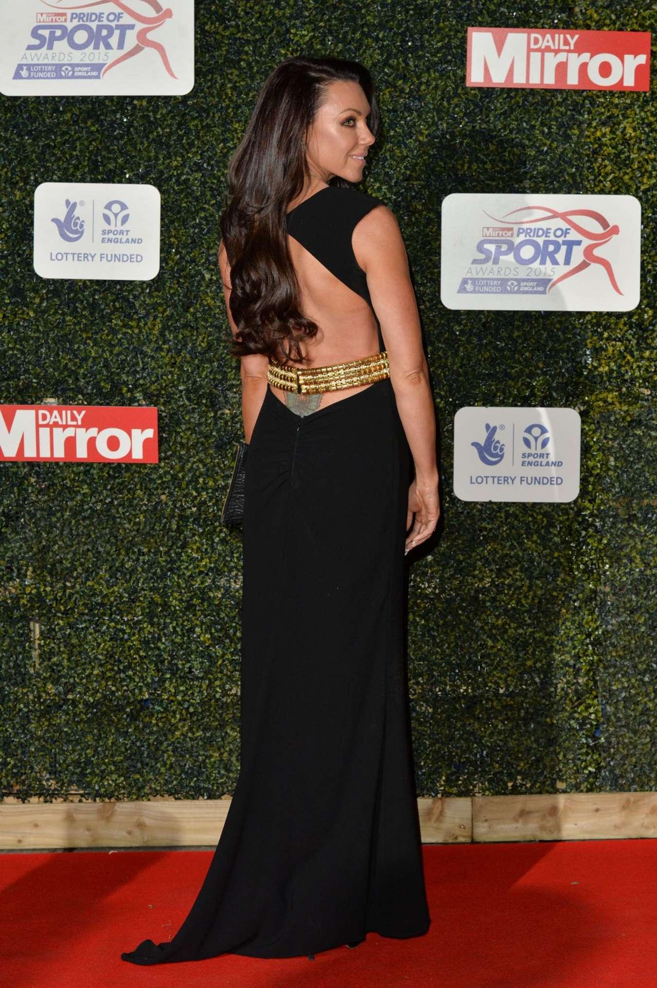Michelle Heaton Daily Mirror Pride of Sport Awards in London