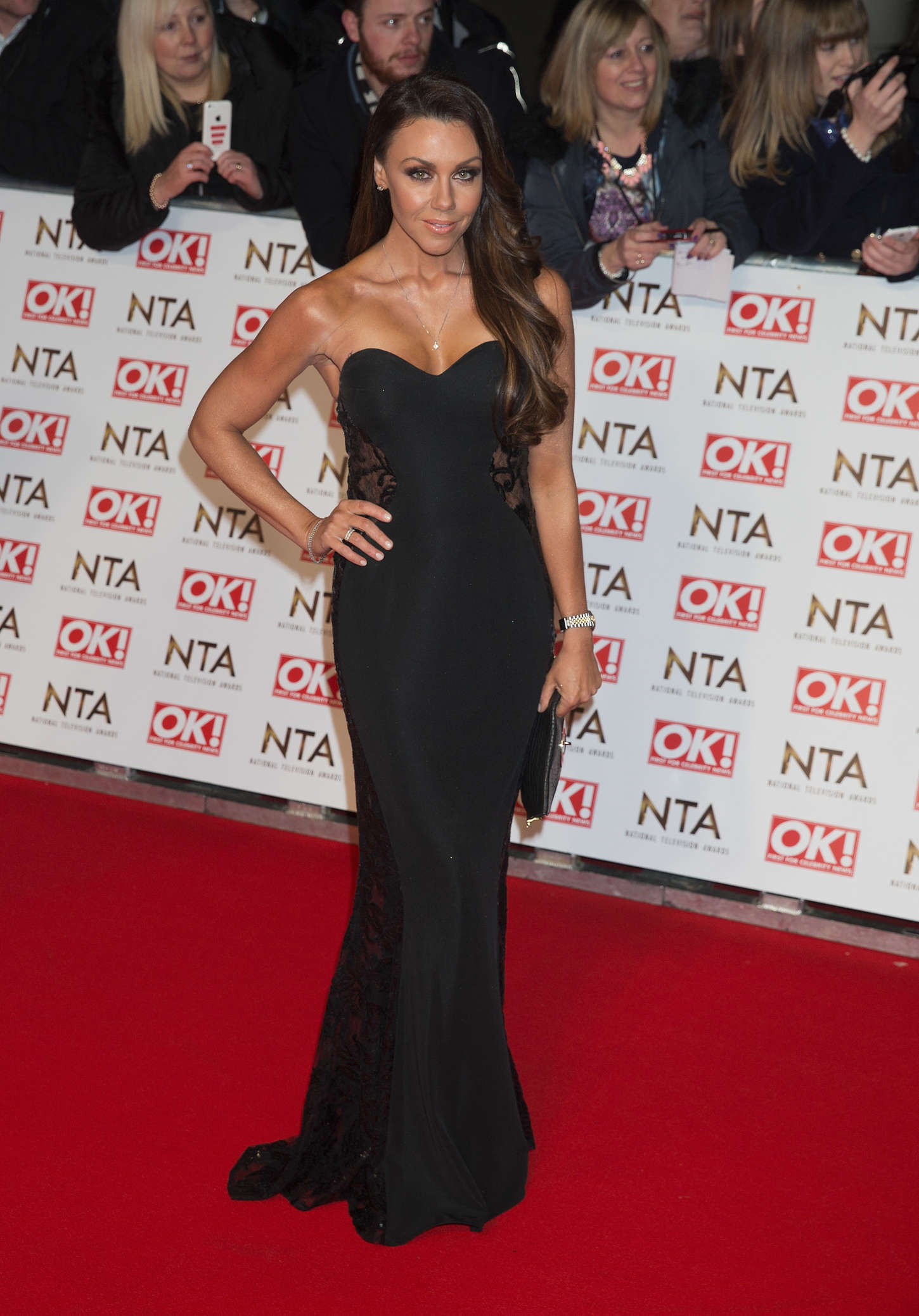Michelle Heaton National Television Awards in London