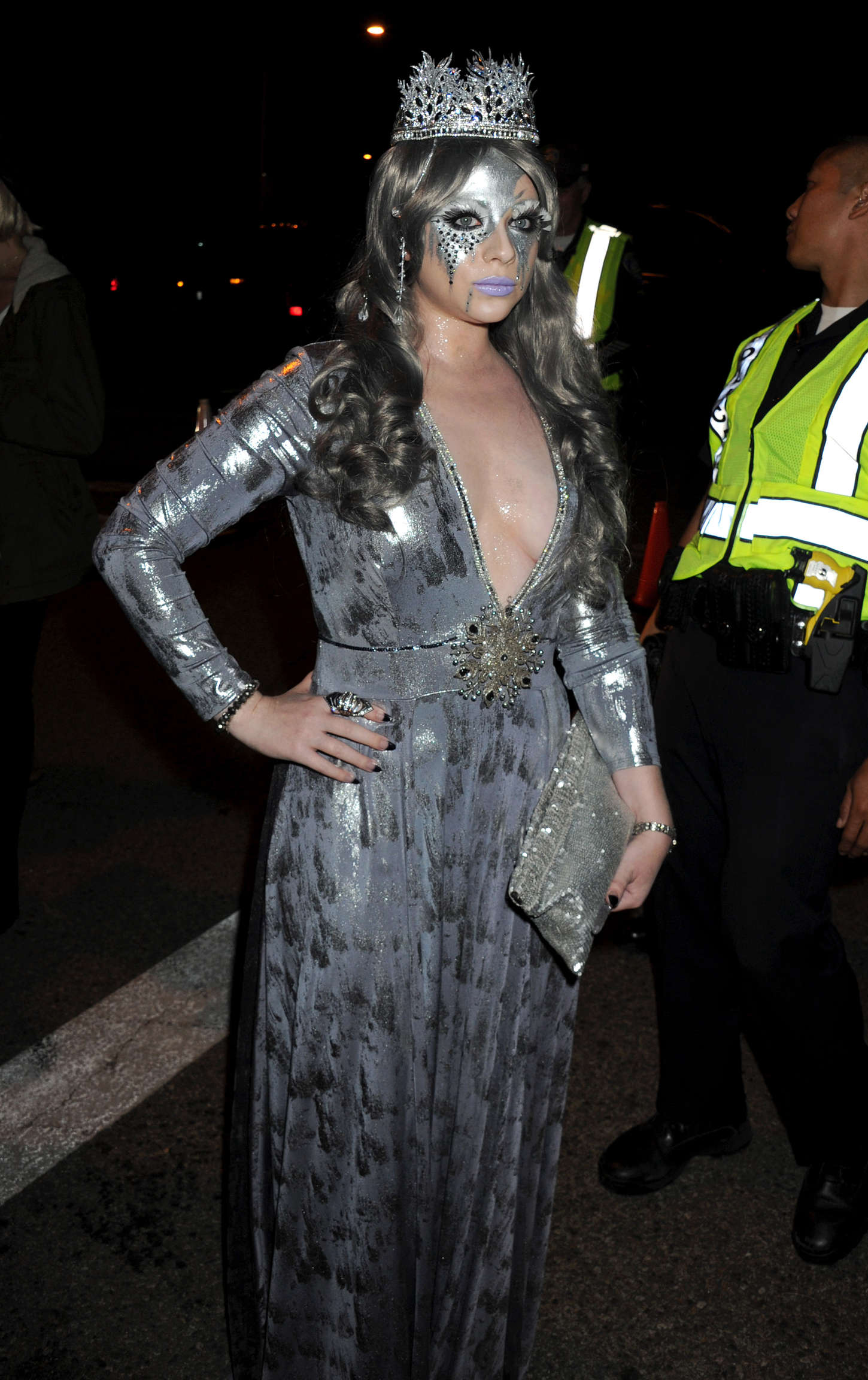 Michelle Trachtenberg Casa Tequila Halloween Party in Beverly Hills