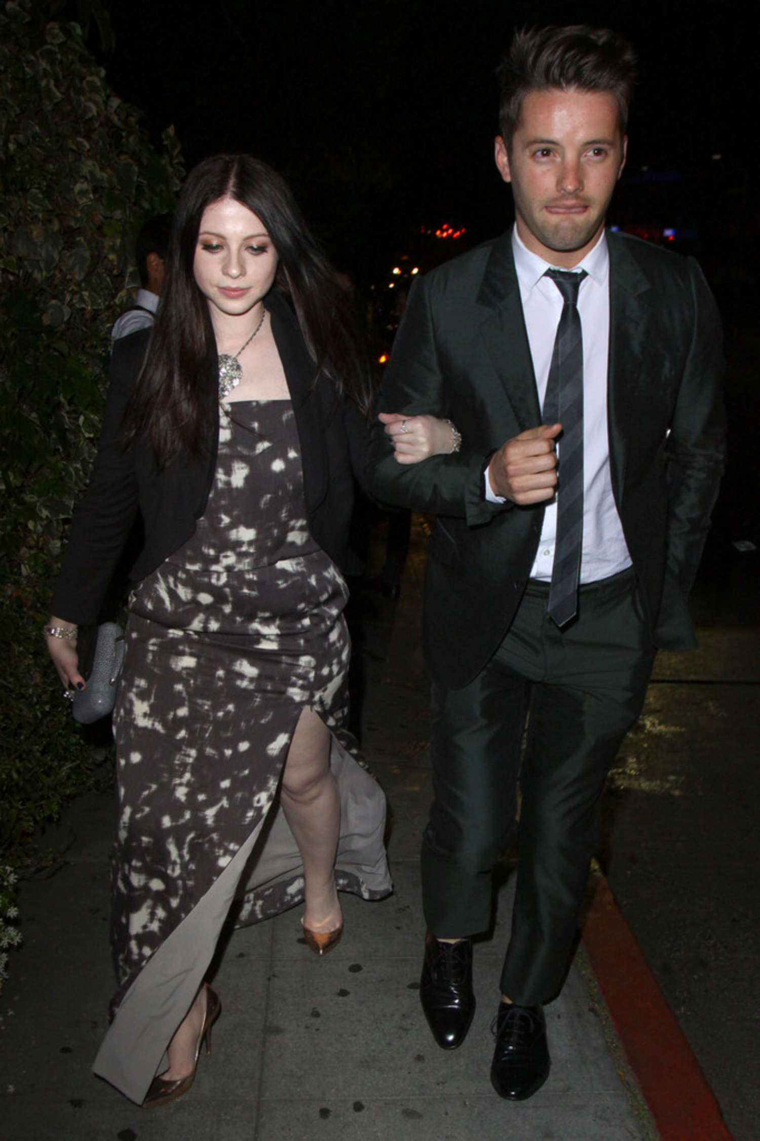 Michelle Trachtenberg leaves the Chateau Marmont in West Hollywood
