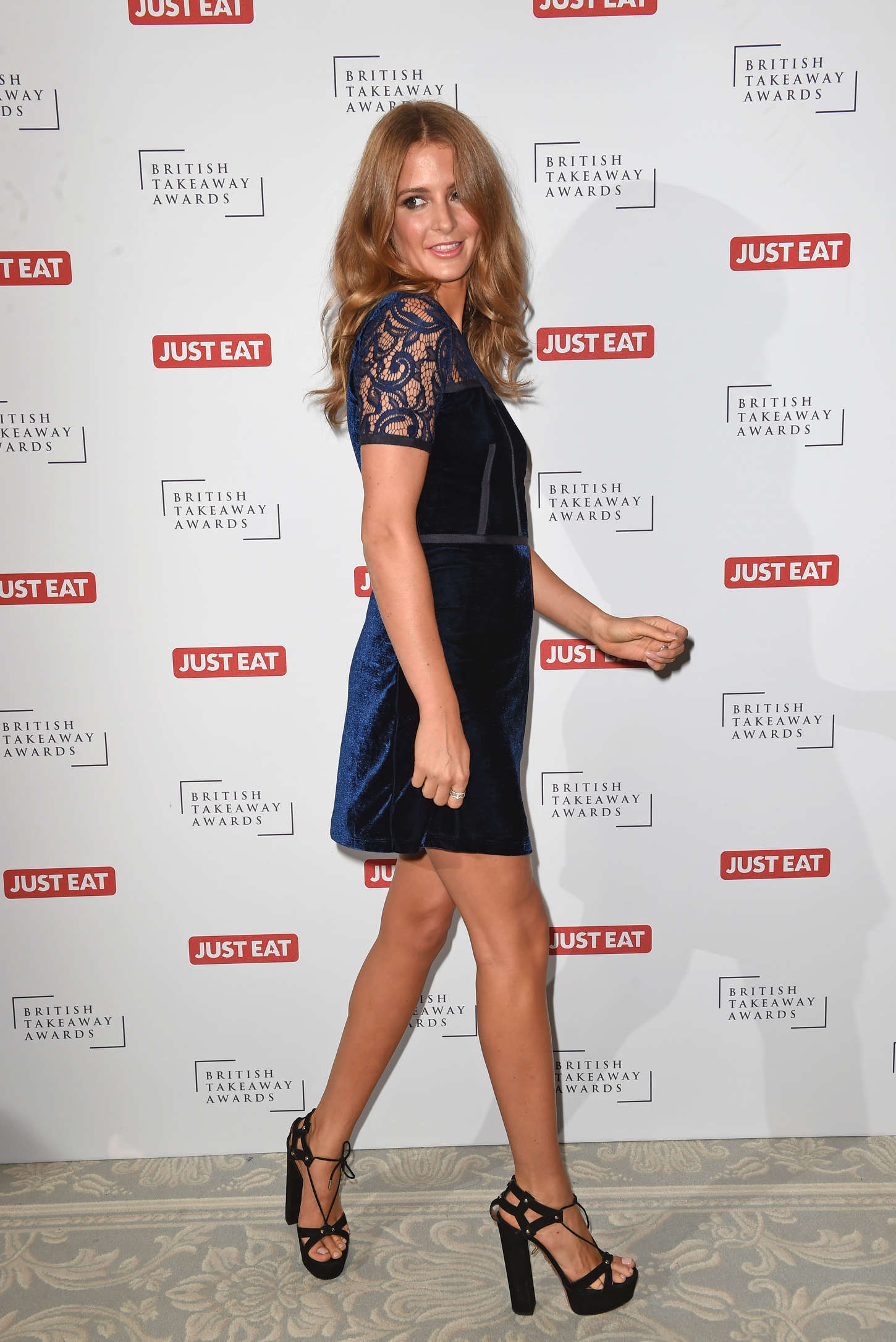Millie Mackintosh British Takeaway Awards in London