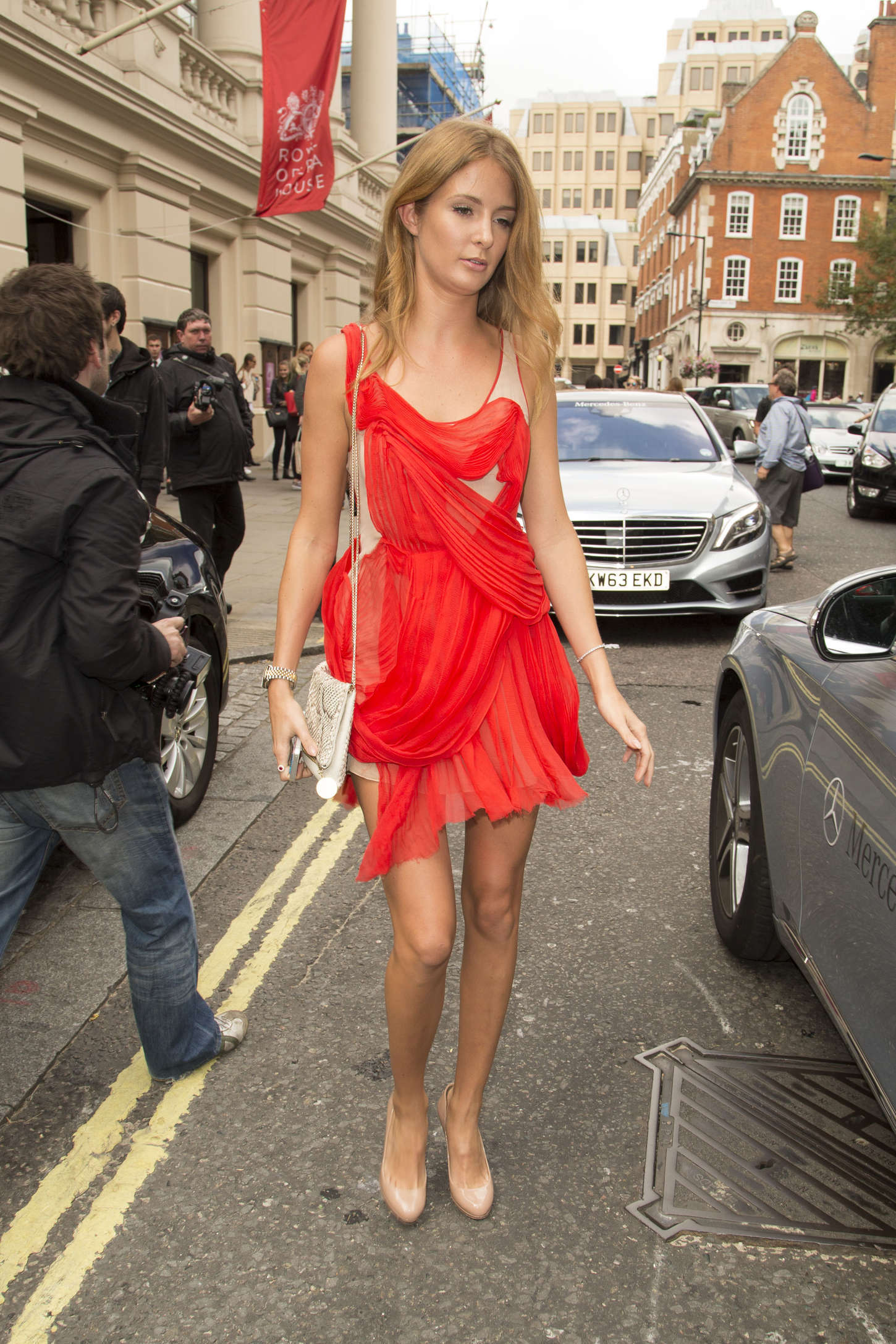 Millie Mackintosh Julien Macdonald Fashion Show in London