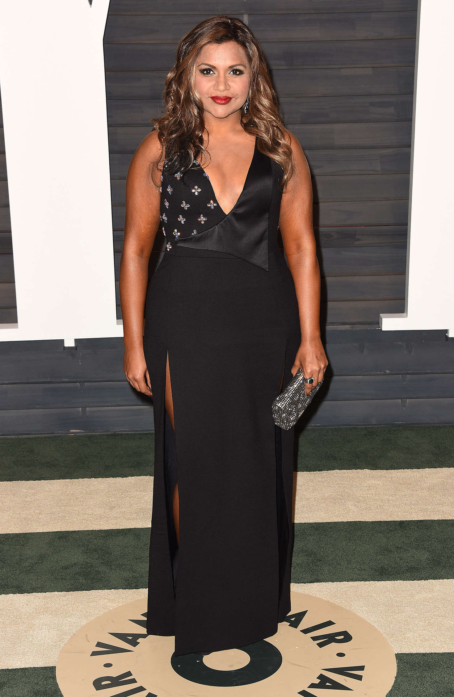 Mindy Kaling Vanity Fair Oscar Party in Beverly Hills