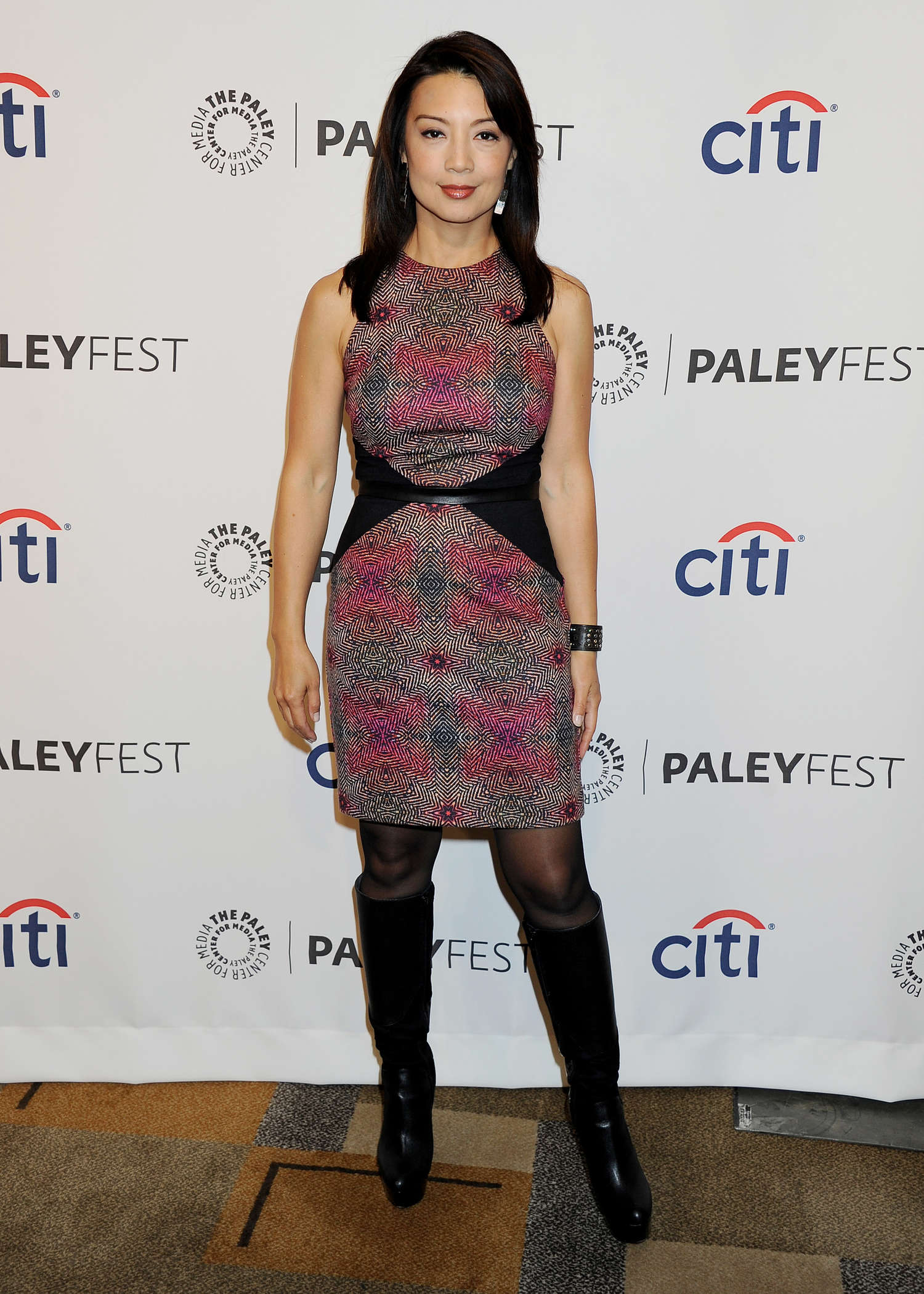 Ming-Na Wen PaleyFest An Evening with The Agents of Shield in Beverly Hills