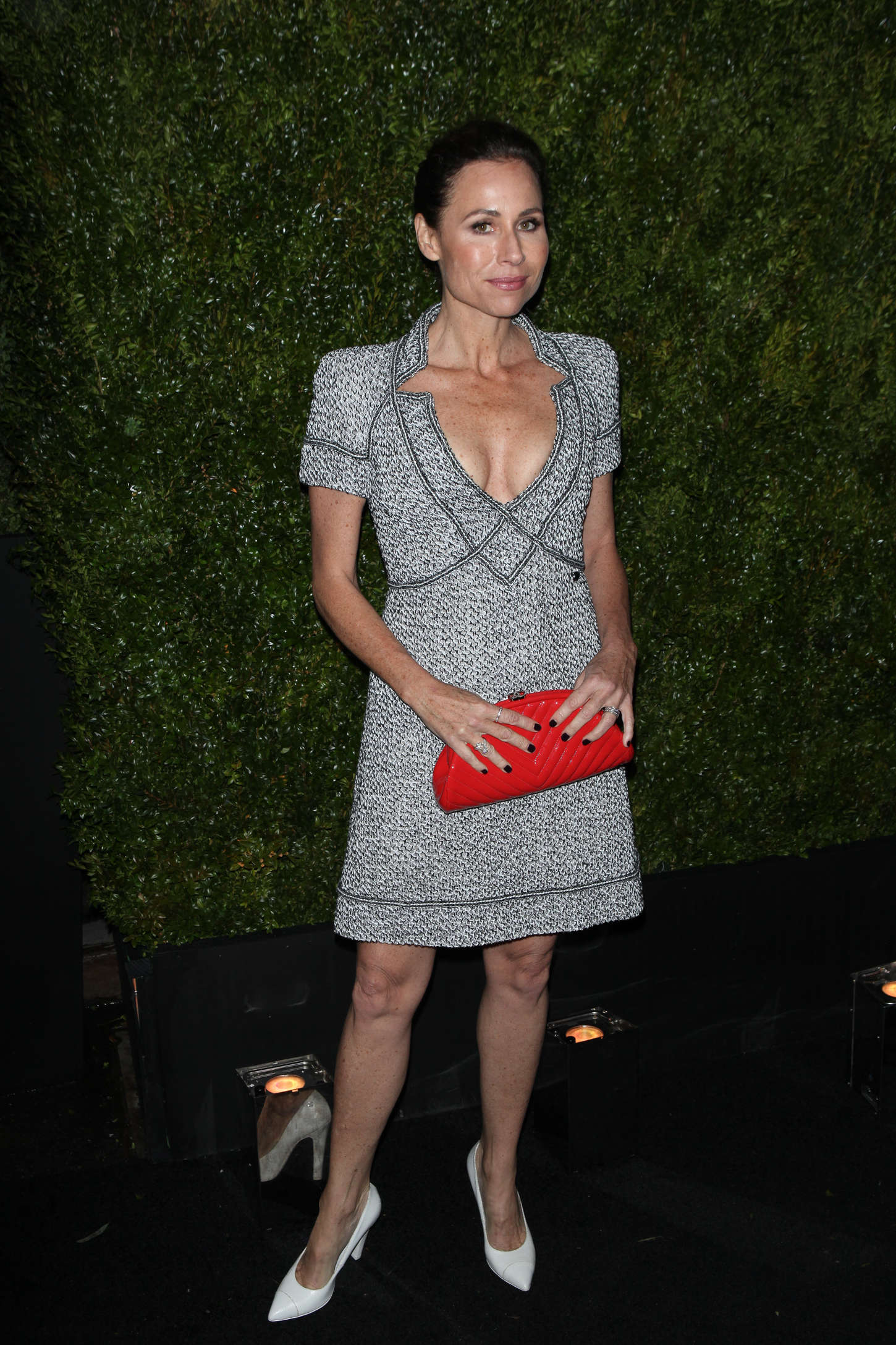 Minnie Driver Chanel Dinner in New York