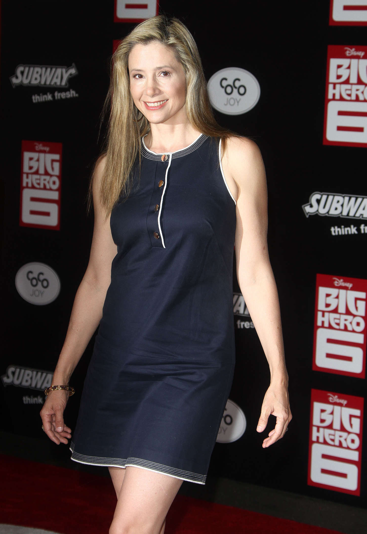 Mira Sorvino at Premiere of Big Hero in Hollywood