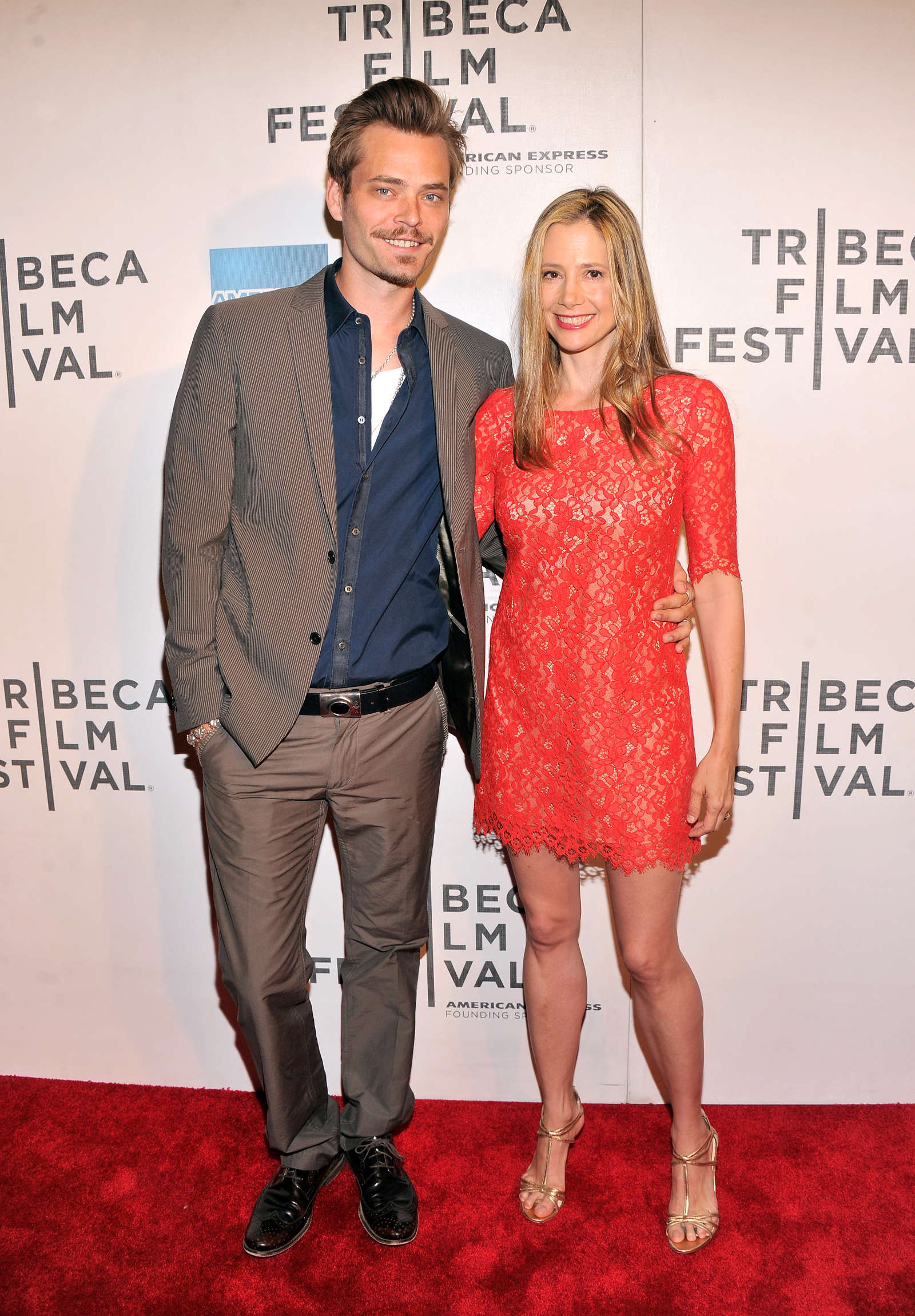 Mira Sorvino Mistaken for Strangers Premiere during Tribeca Film Festival