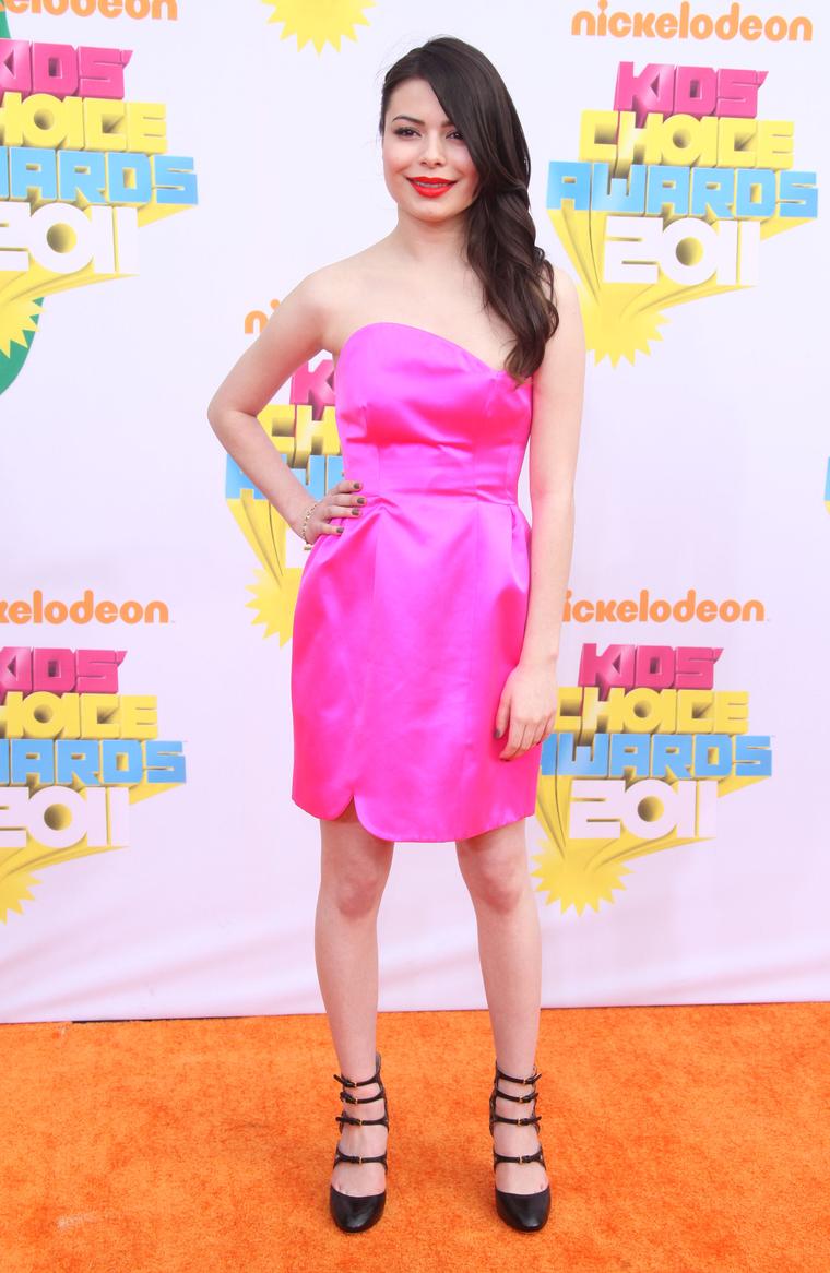 Miranda Cosgrove at Nickelodeons Annual Kids Choice Awards