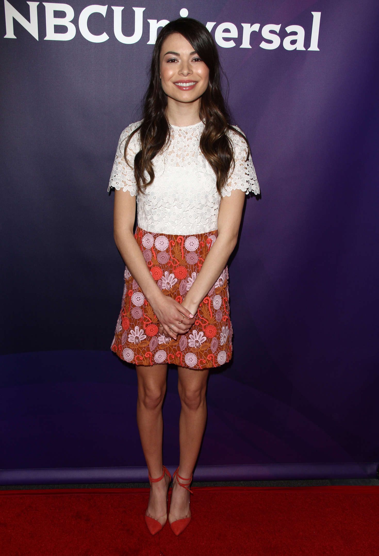 Miranda Cosgrove NBCUniversal Summer Press Day in Westlake Village