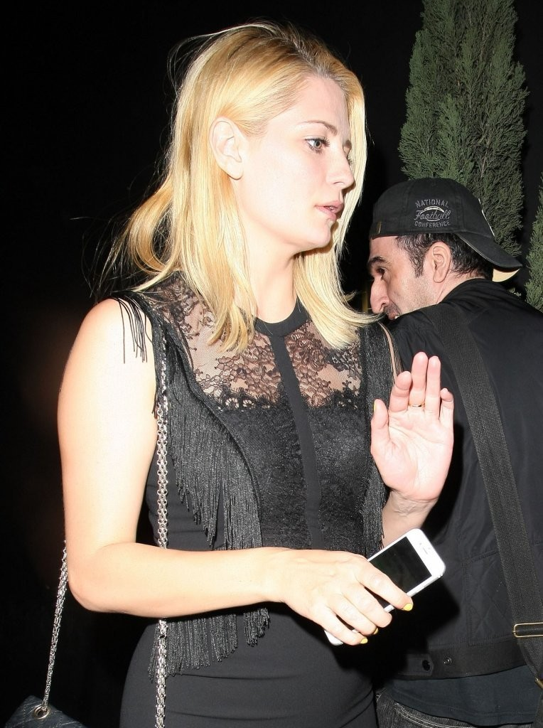 Mischa Barton at The Nice Guy in West Hollywood