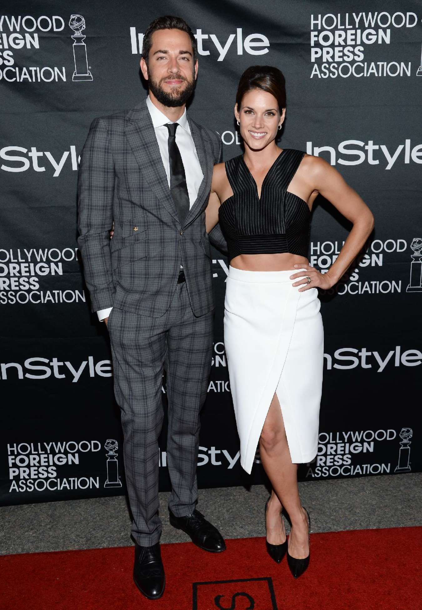 Missy Peregrym Hollywood Foreign Press Association and InStyle party at TIFF