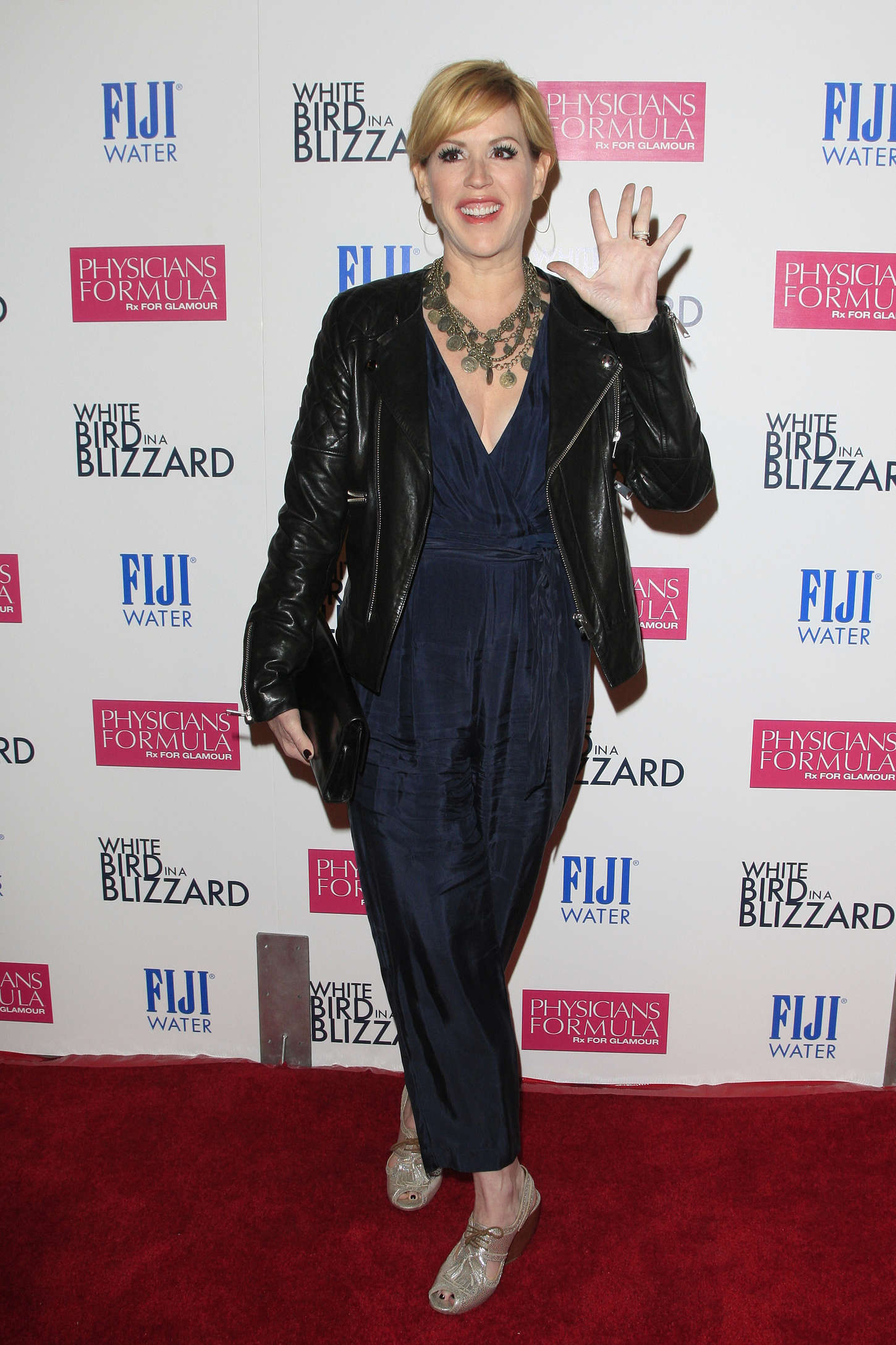 Molly Ringwald at Premiere White Bird in a Blizzard in Los Angeles