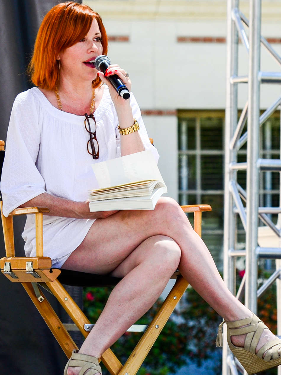 Molly Ringwald at USC Book Promotion in Los Angeles