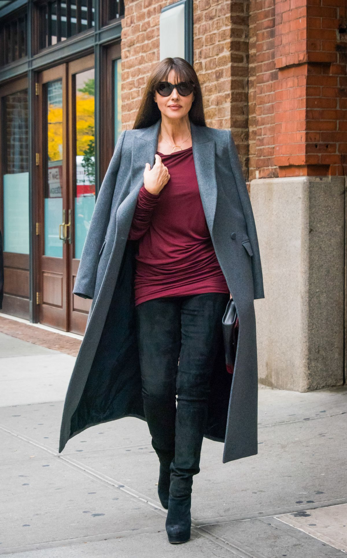 Monica Bellucci Seen Out In New York