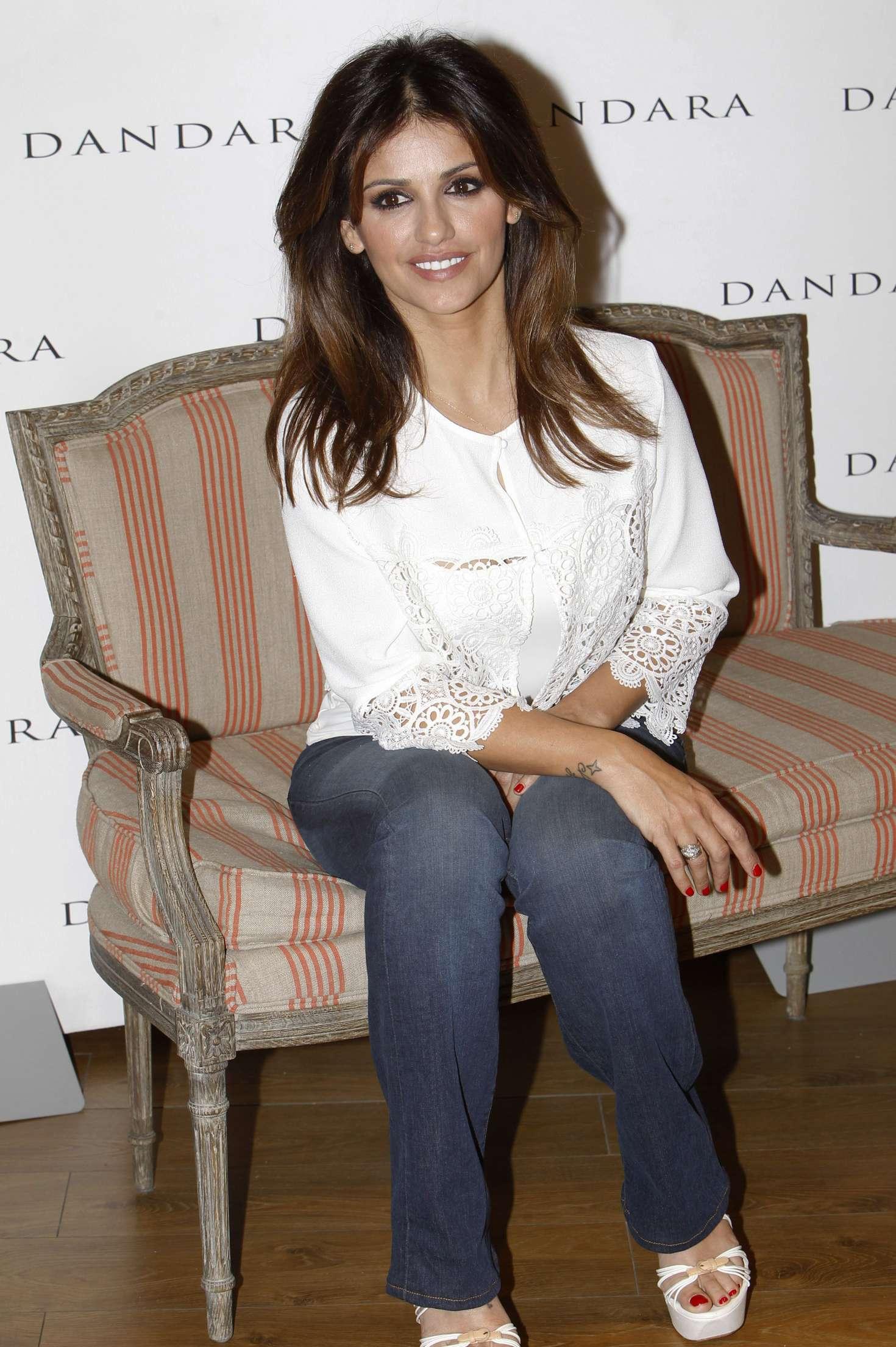 Monica Cruz Dandara Promotional Event in Madrid