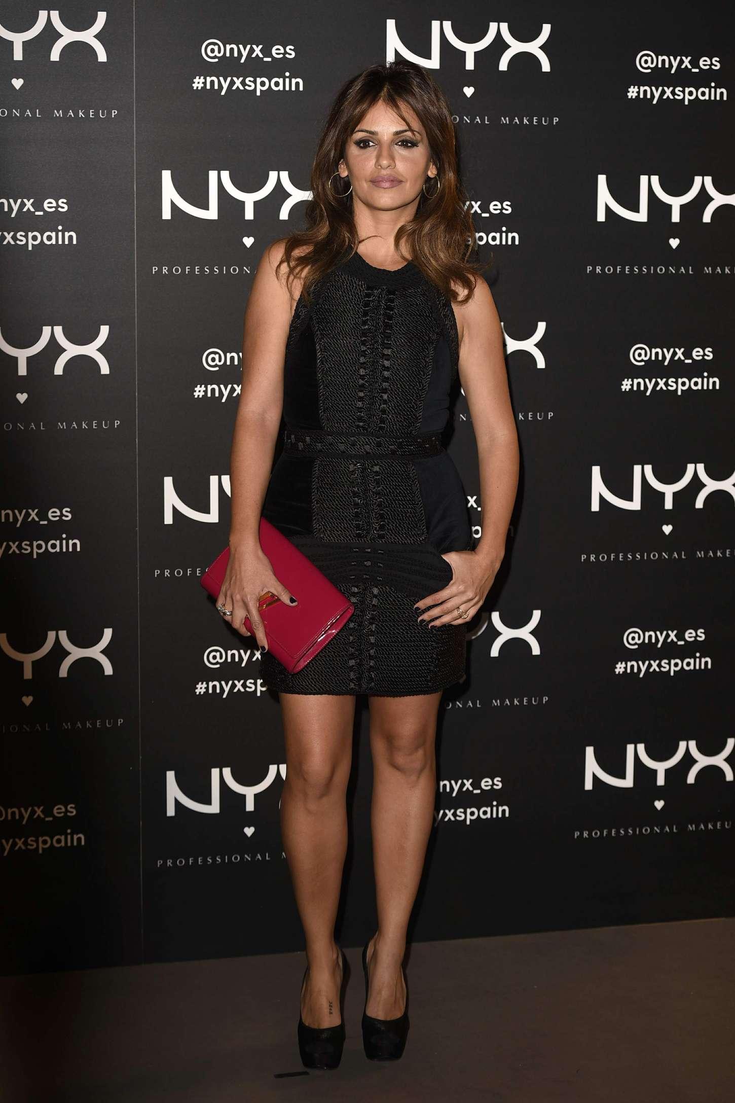 Monica Cruz NYX Cosmetics Launch in Madrid