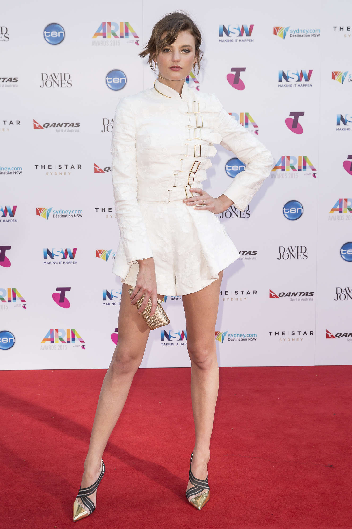 Montana Cox ARIA Awards in Sydney
