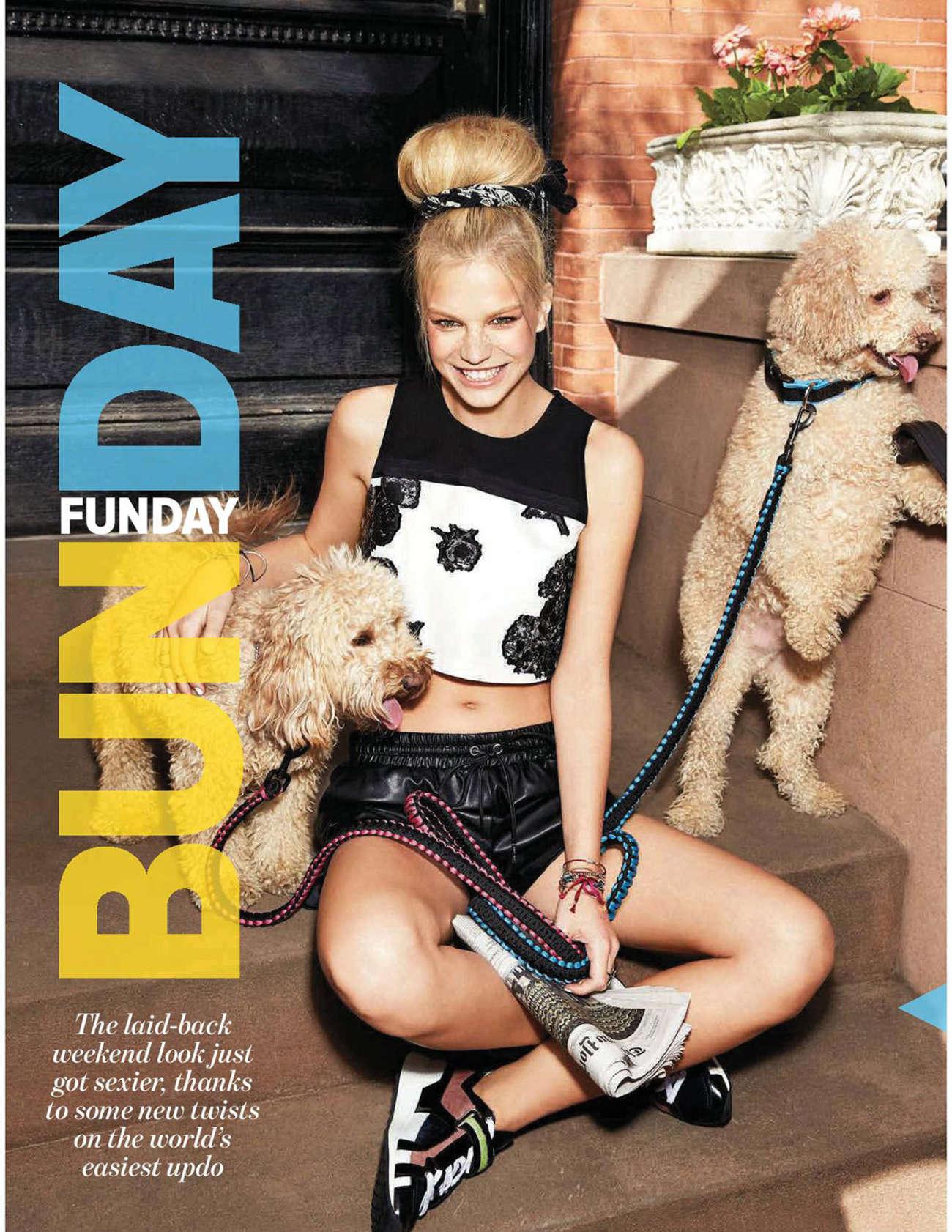 Nadine Leopold Cosmopolitan Australia Magazine