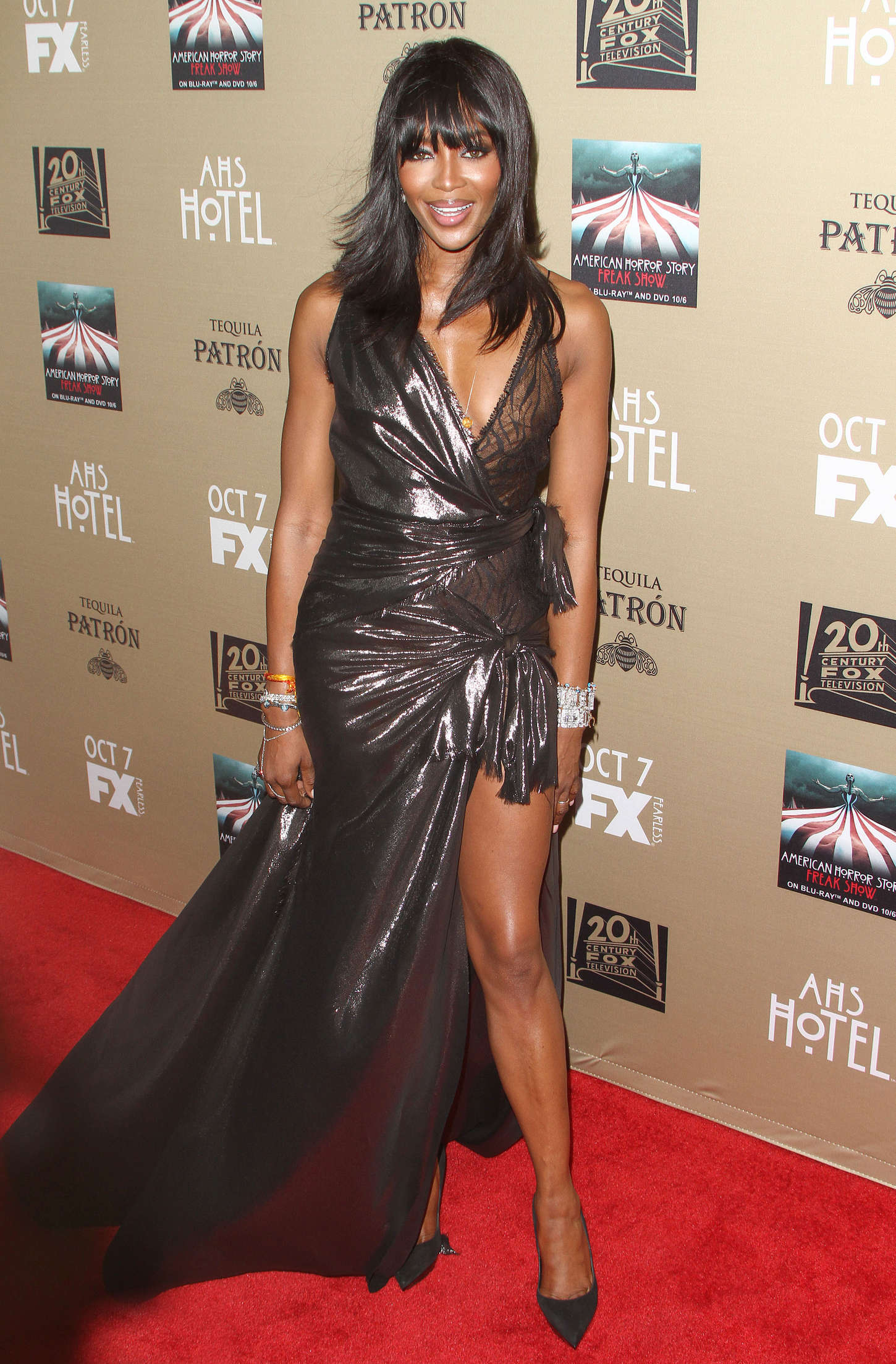 Naomi Campbell American Horror Story Hotel Screening in Los Angeles