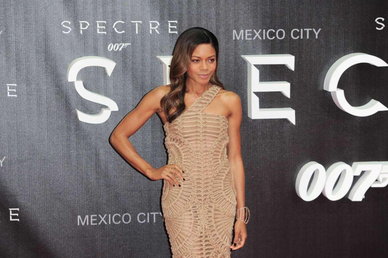 Naomi Harris Spectre Premiere in Mexico City
