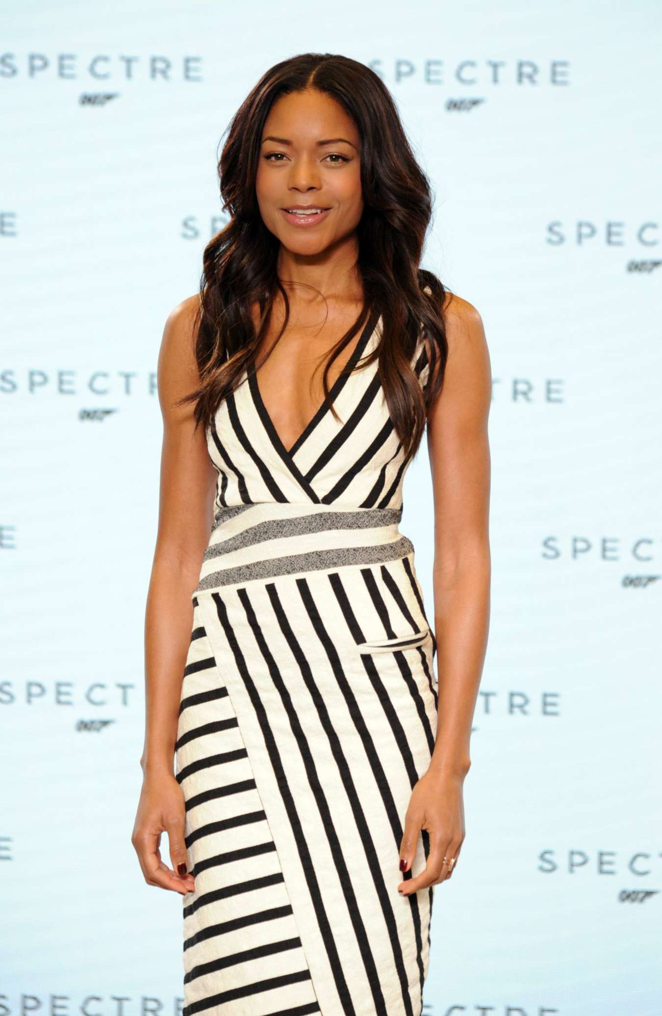 Naomie Harris Bond Photocall at Pinewood Studios in England