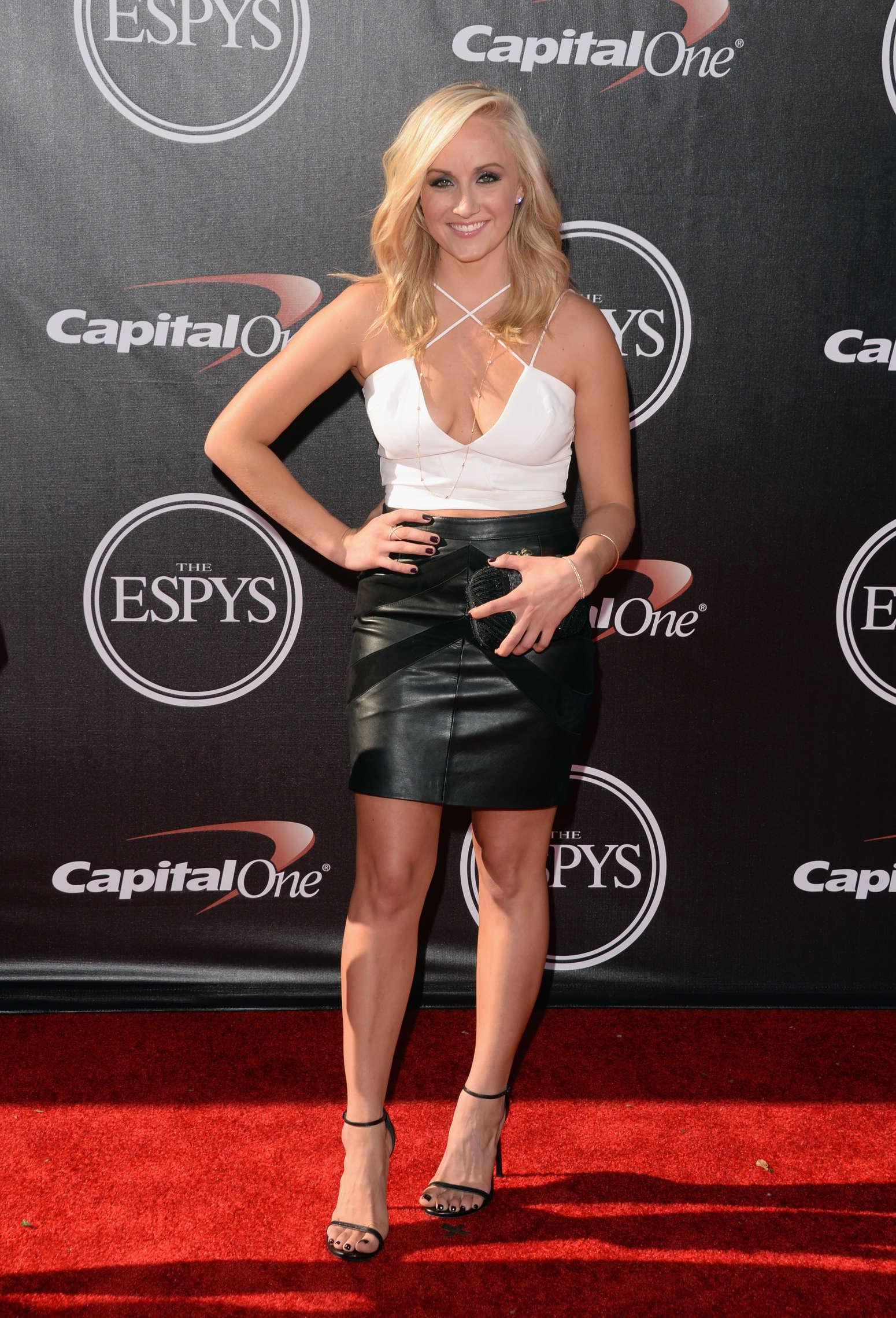 Nastia Liukin at ESPYS in Los Angeles