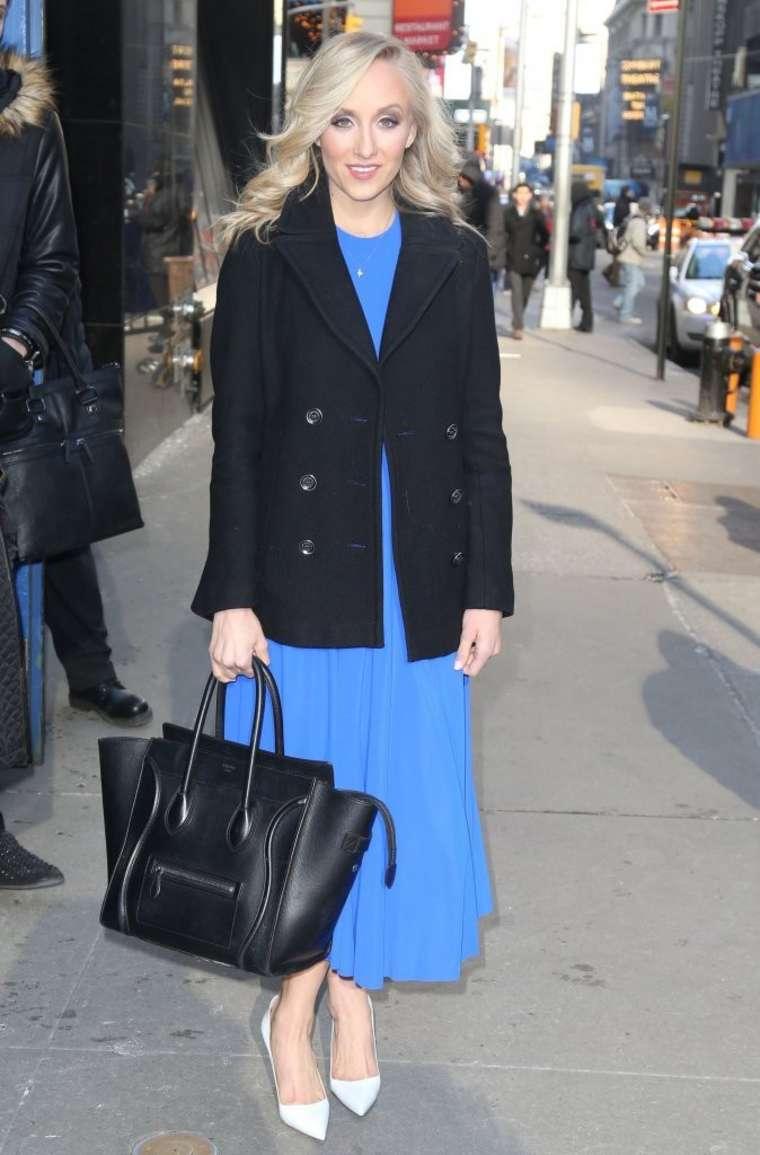 Nastia Liukin at Good Morning America in New York
