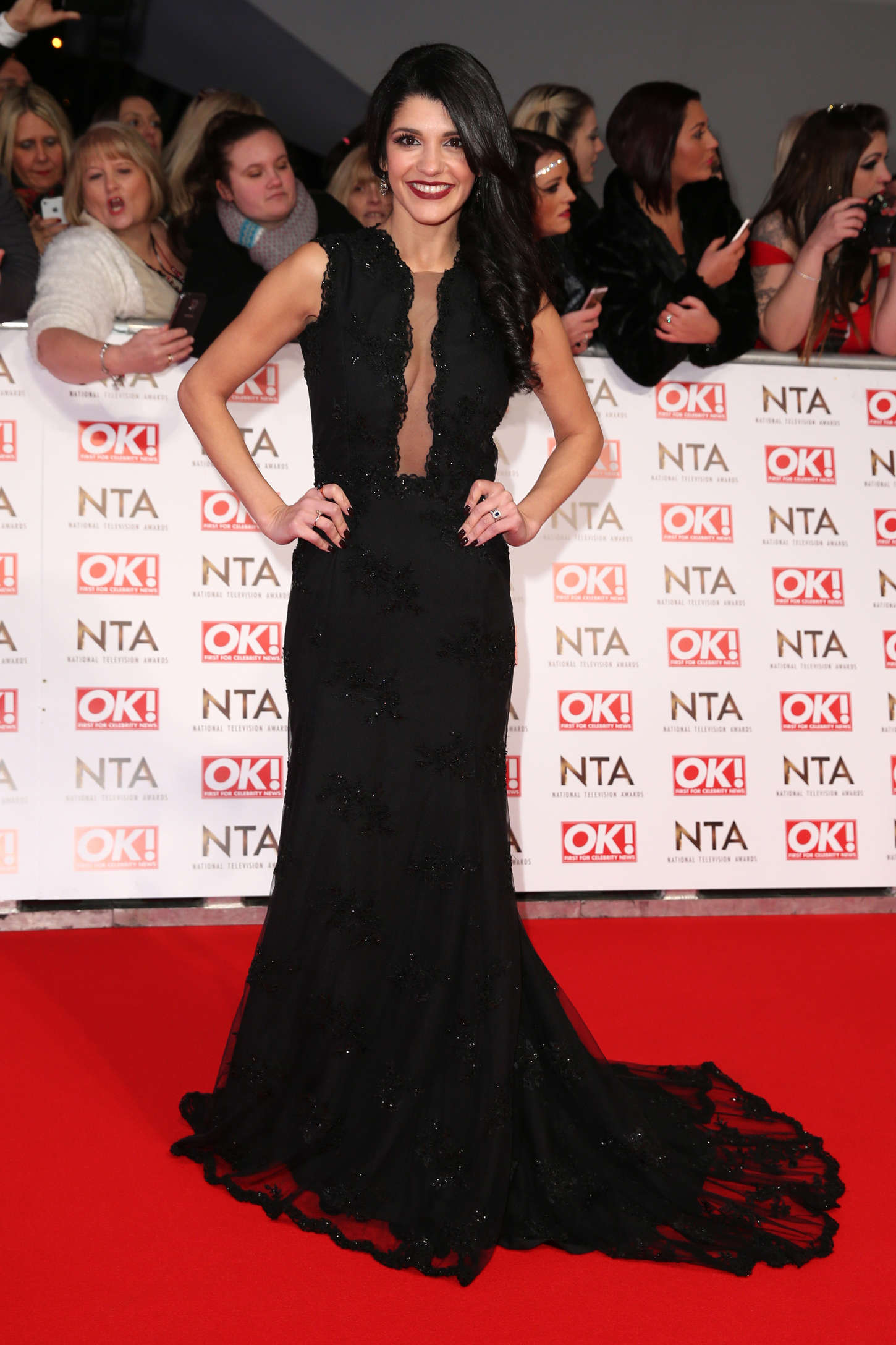 Natalie Anderson National Television Awards in London