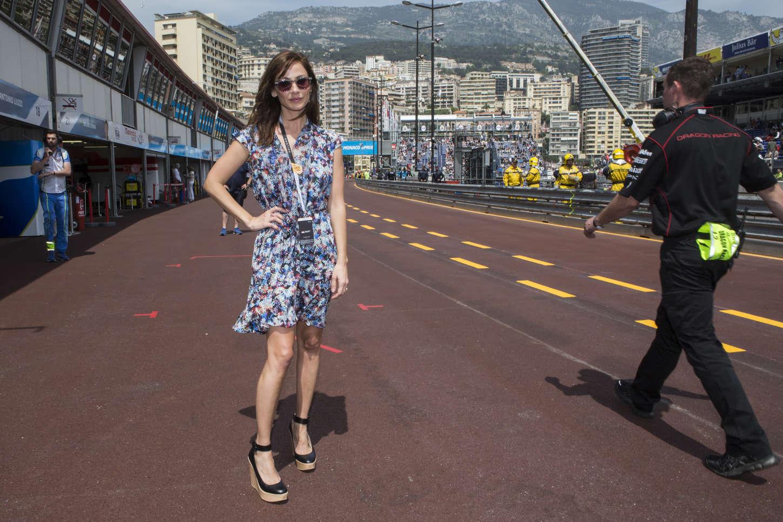 Natalie Imbruglia Formula E Monaco ePrix