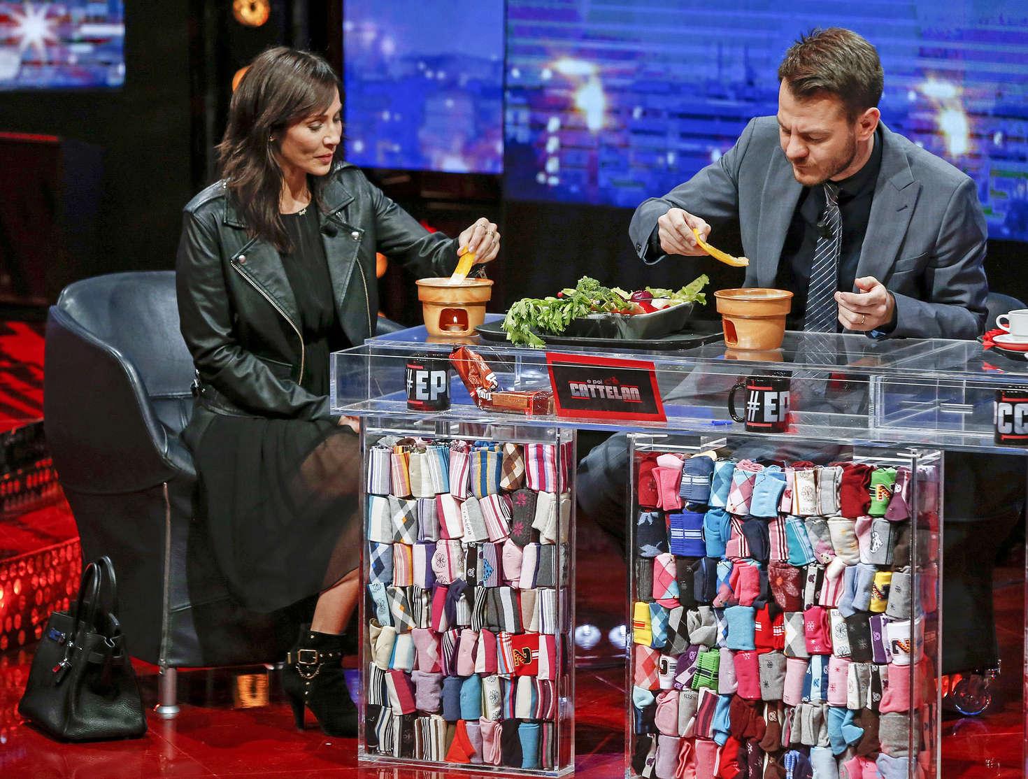 Natalie Imbruglia TV Show E poi ce Cattelan in Italy