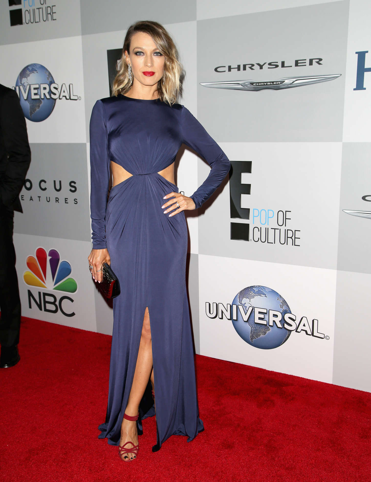 Natalie Zea NBCUniversal Golden Globes Party in Beverly Hills