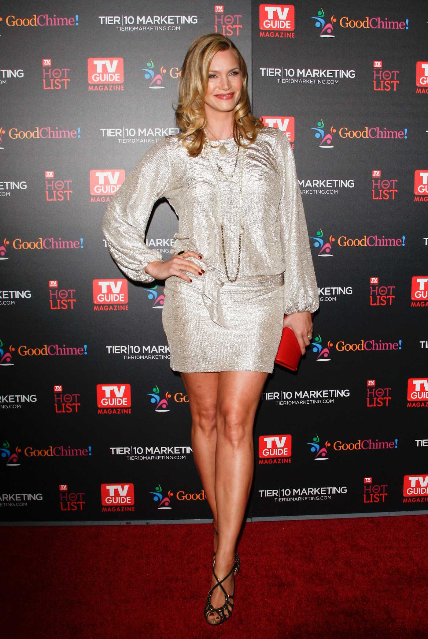 Natasha Henstridge TV Guide Magazine Hot List Party