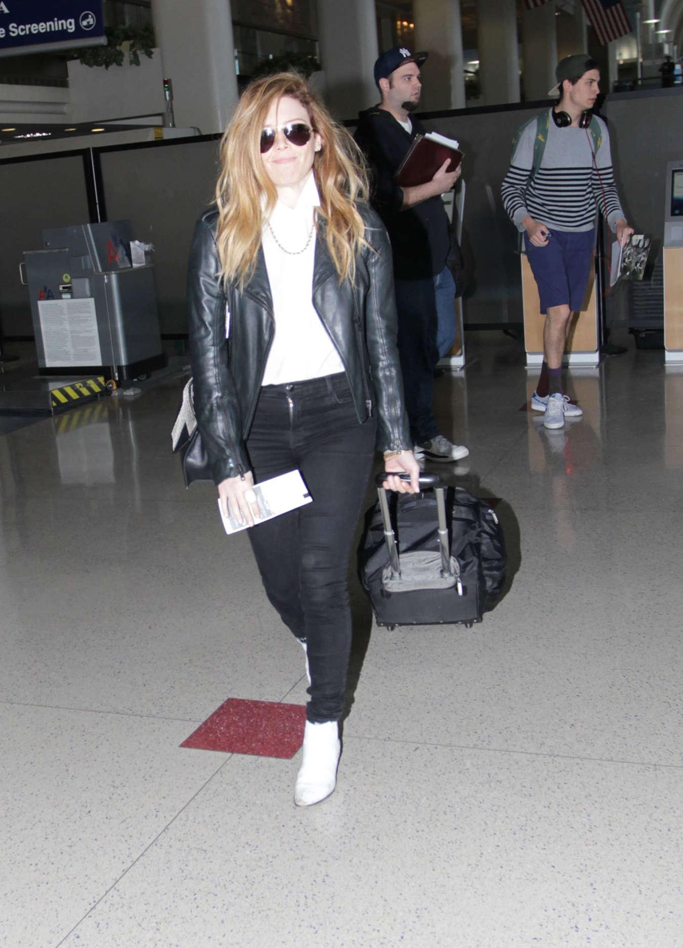 Natasha Lyonne Arrives at Los Angeles International Airport