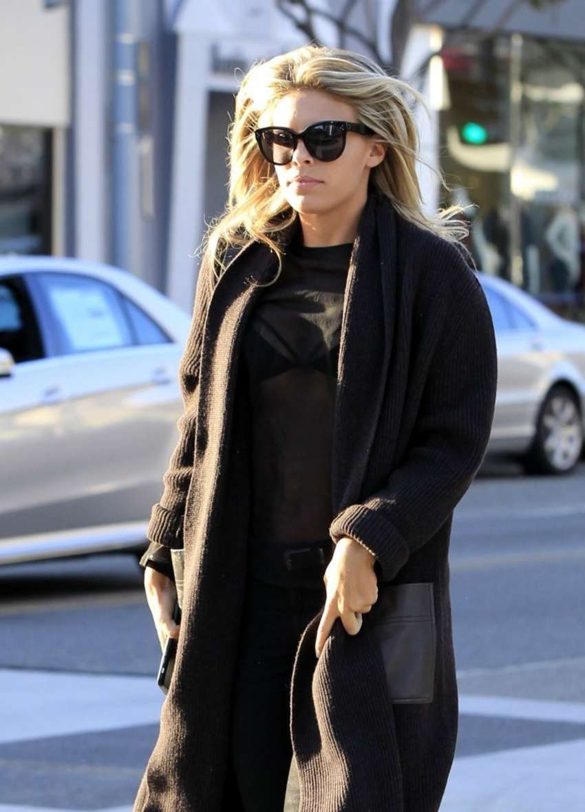 Natasha Oakley and Devin Brugman Out in Beverly Hills