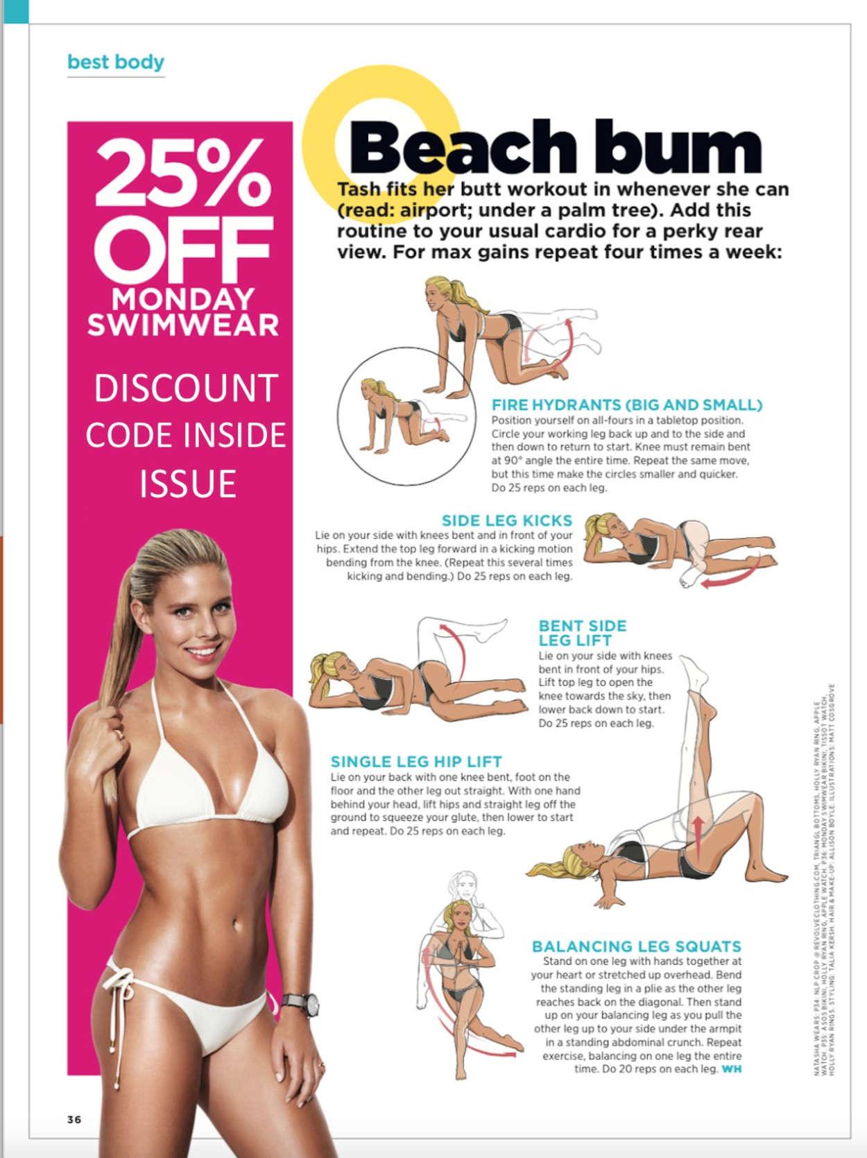 Natasha Oakley Womens Heath Australia Magazine