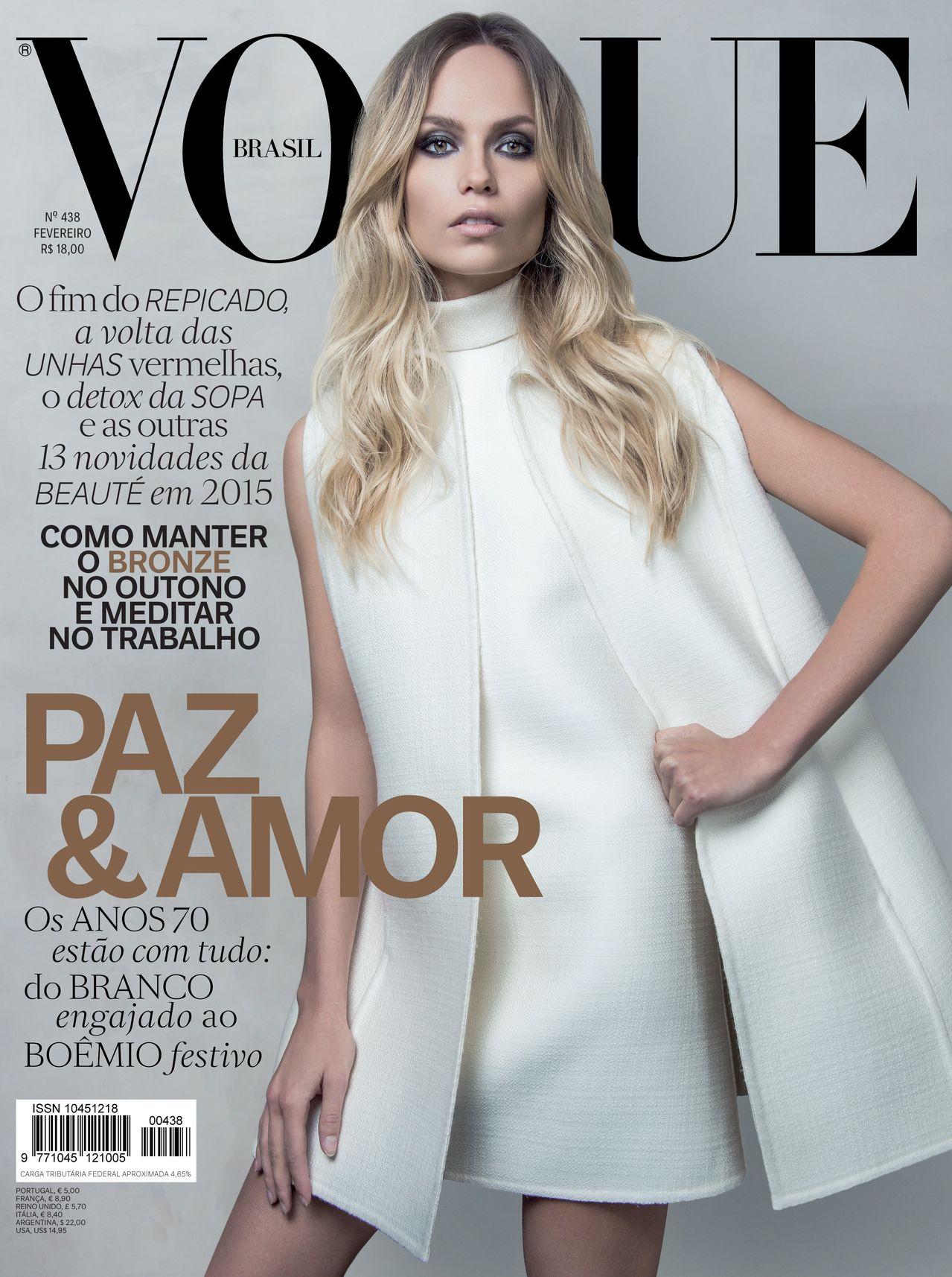 Natasha Poly Vogue Brazil Cover