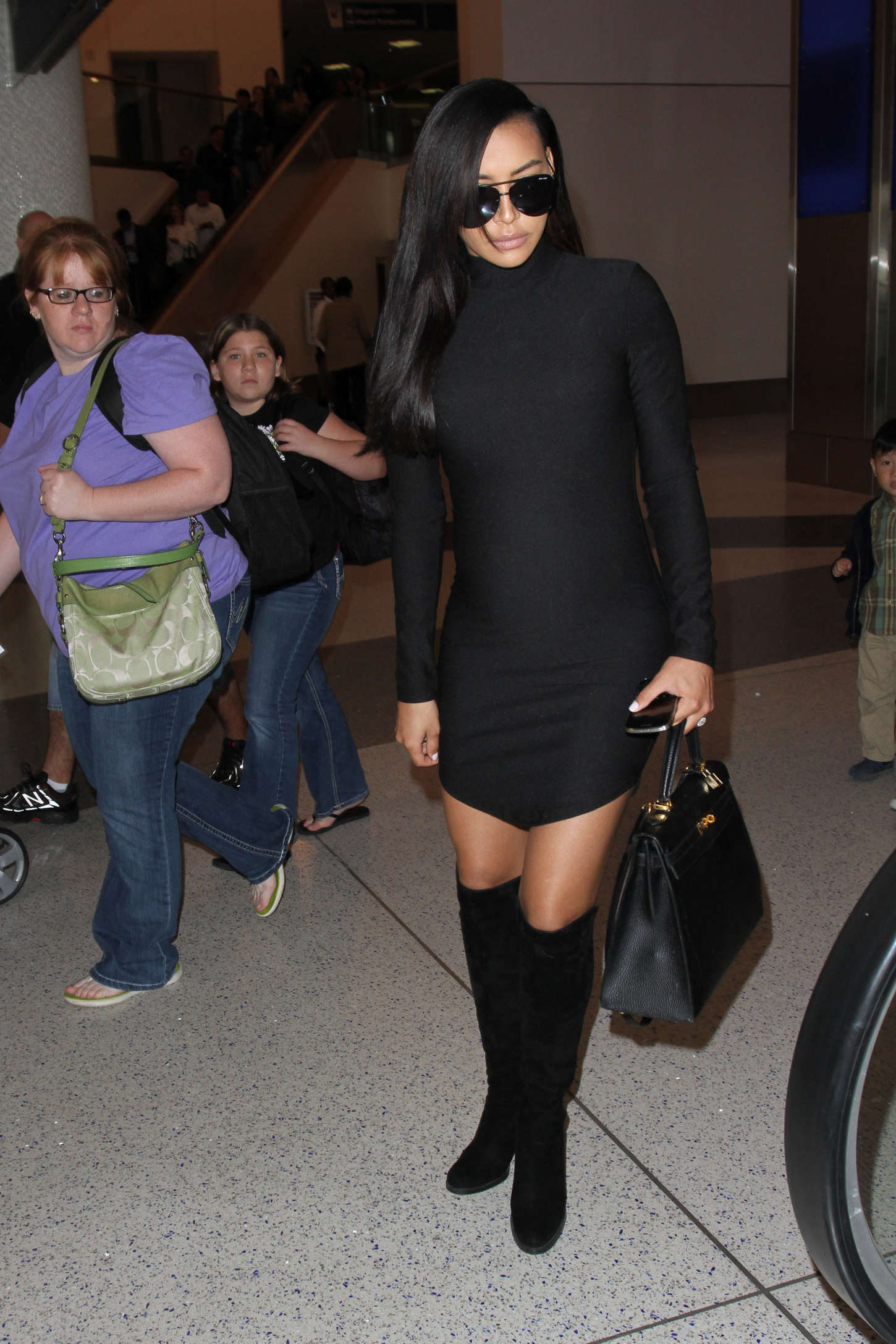 Naya Rivera LAX Airport in Los Angeles
