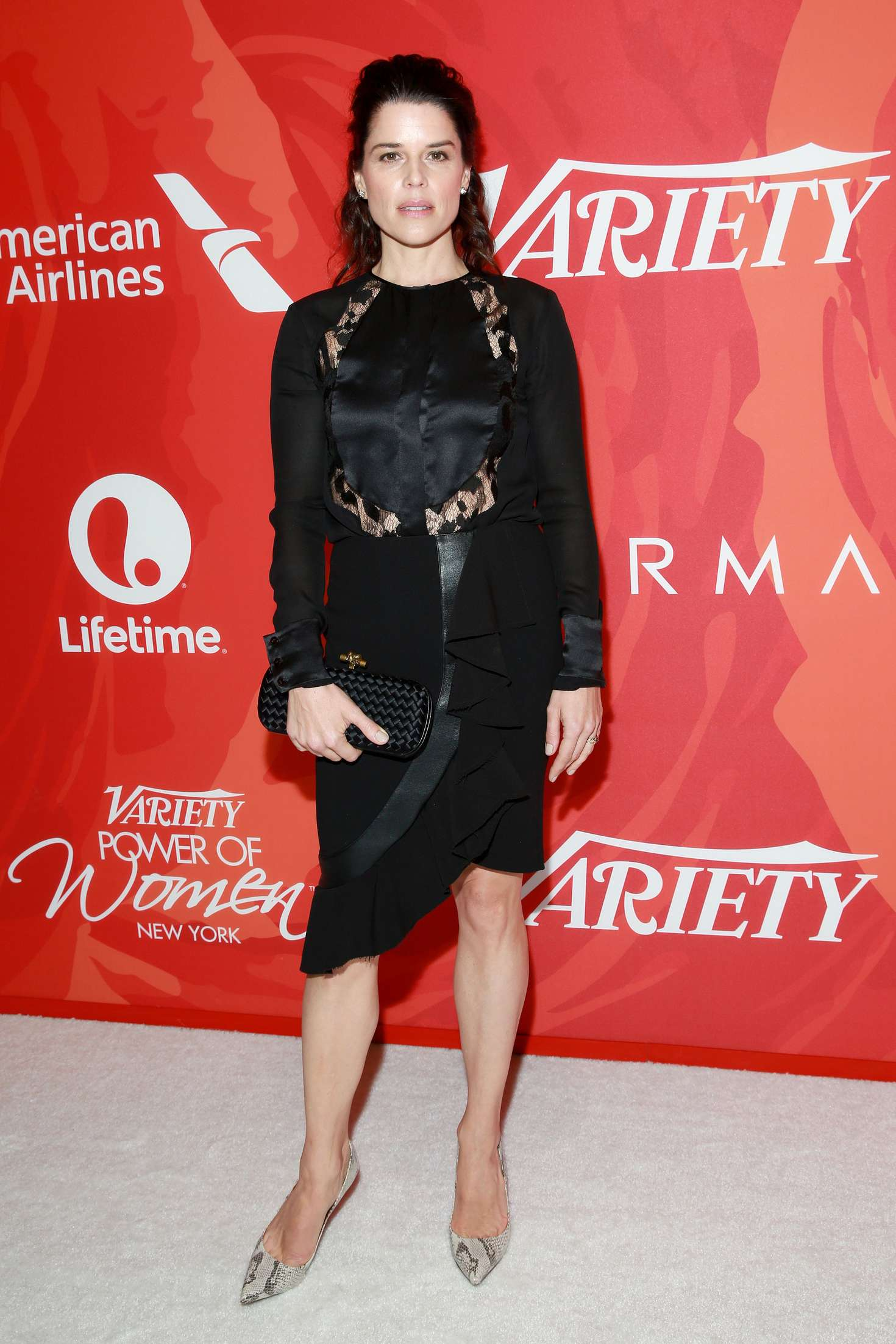 Neve Campbell Varietys Power Of Women New York in New York