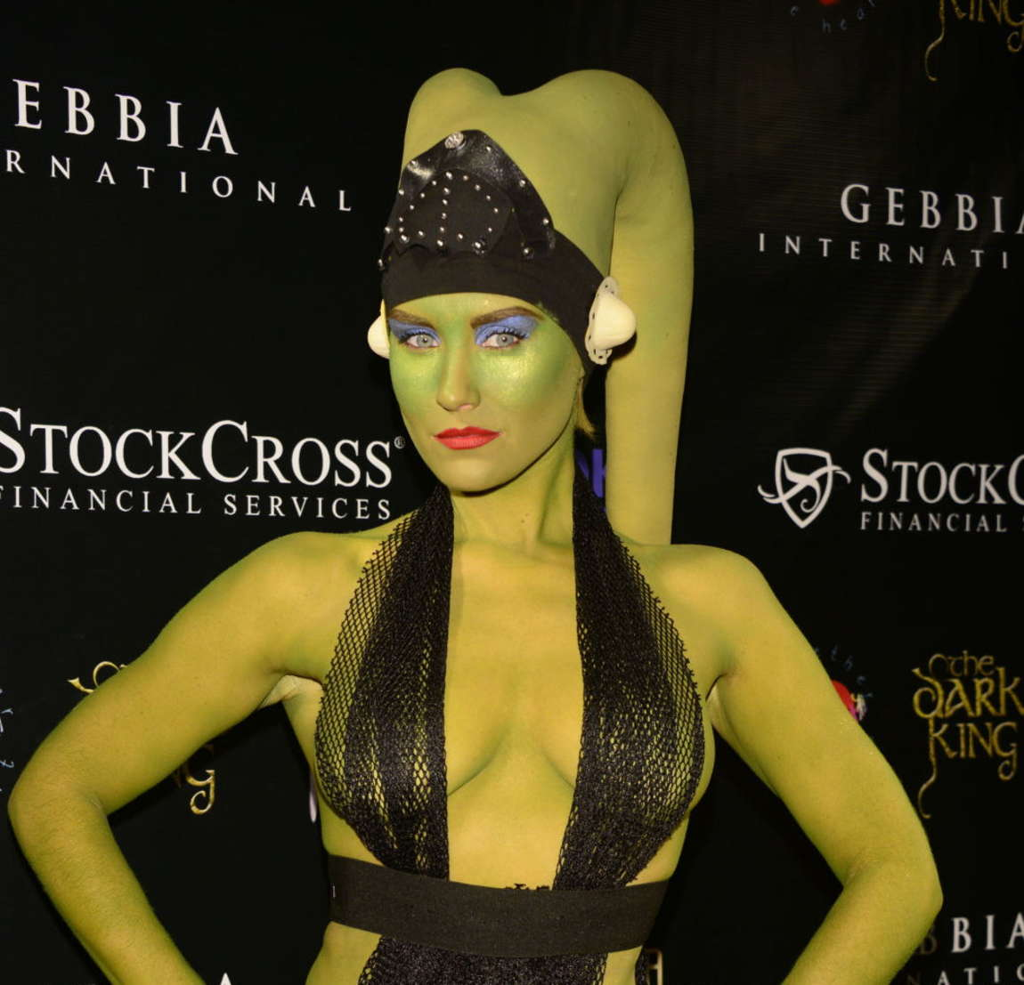 Nicky Whelan Carltons Halloween Nightmare! in Beverly Hills