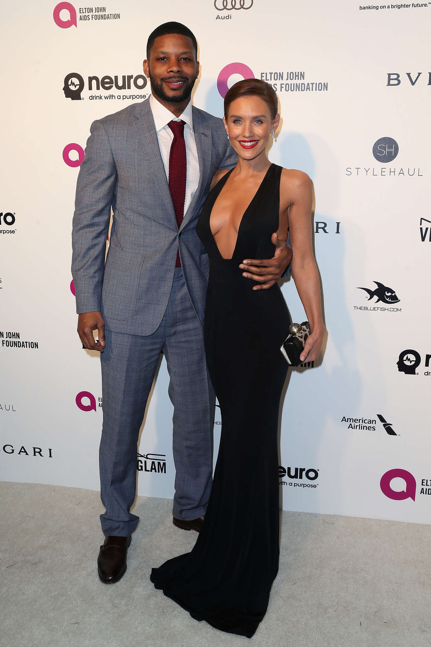 Nicky Whelan Elton John AIDS Foundations Oscar Viewing Party in West Hollywood
