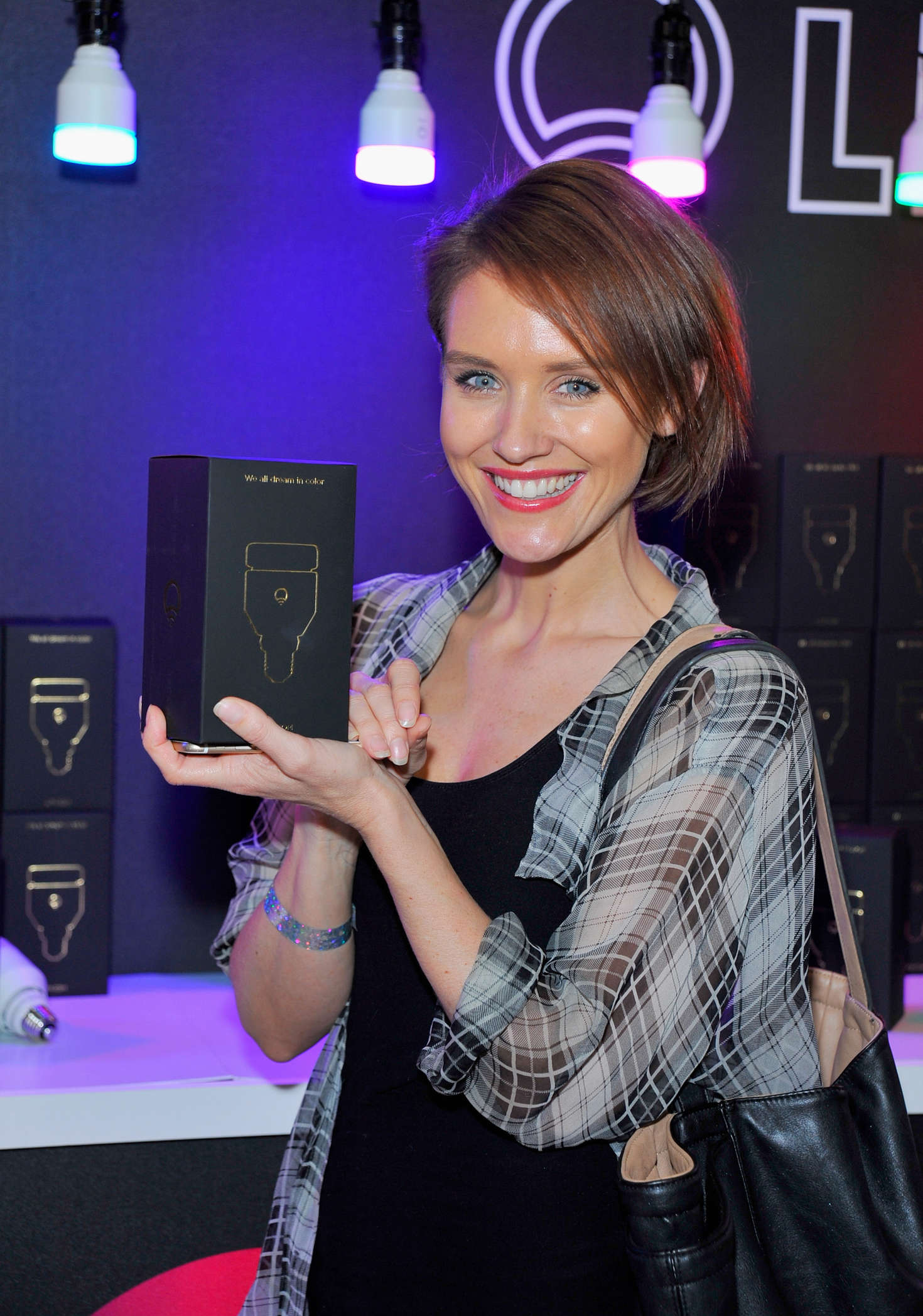 Nicky Whelan Kari Feinsteins Style Lounge presented by LIFX in Los Angeles