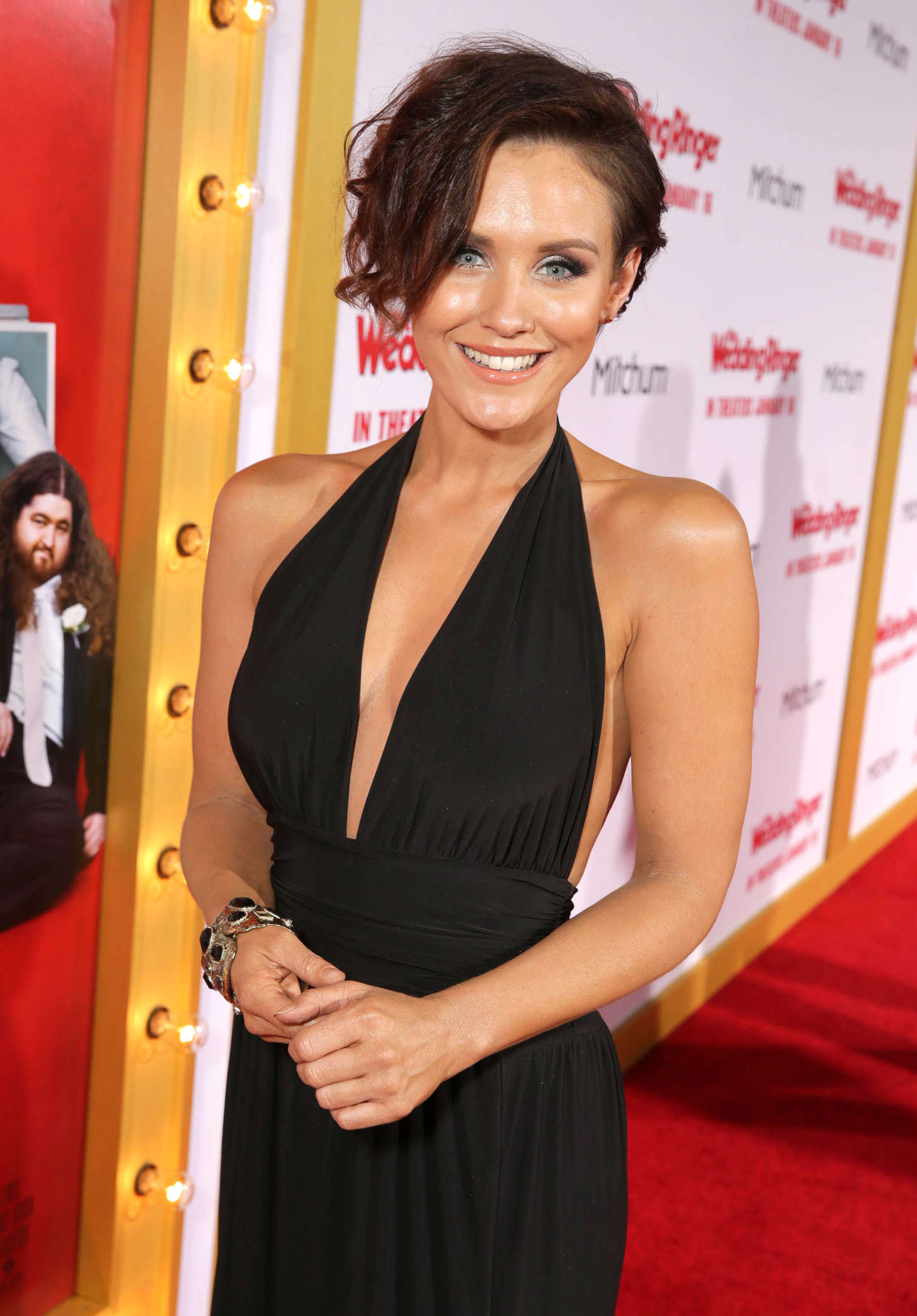 Nicky Whelan The Wedding Ringer Premiere in Hollywood