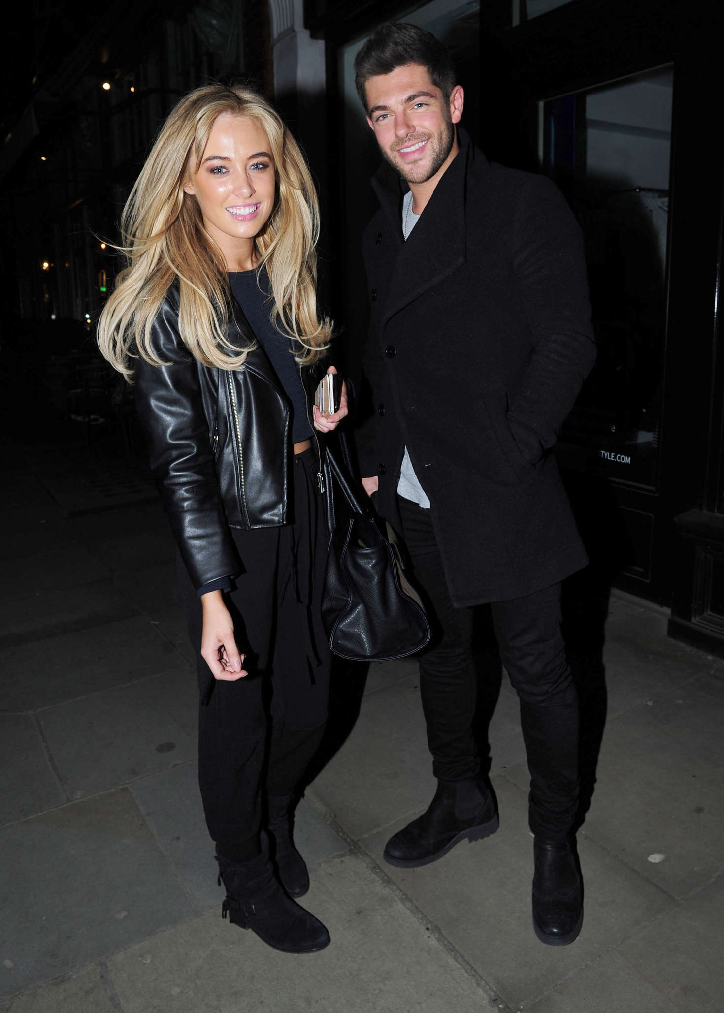 Nicola Hughes Night out at The Ivy Garden Restaurant in Chelsea