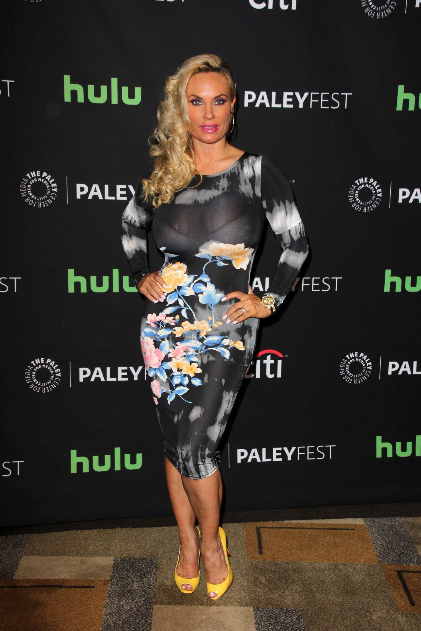 Nicole Coco Austin Annual PaleyFest Salute Dick Wolf Event in Hollywood