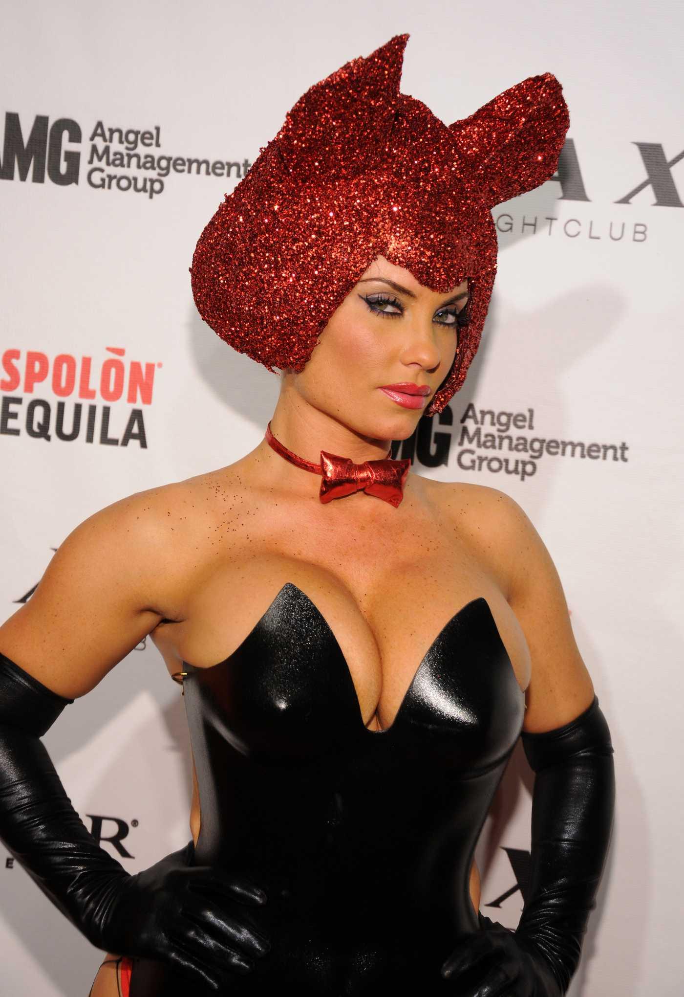 Nicole Coco Austin Halloween Players Ball at LAX nightclub in Las Vegas